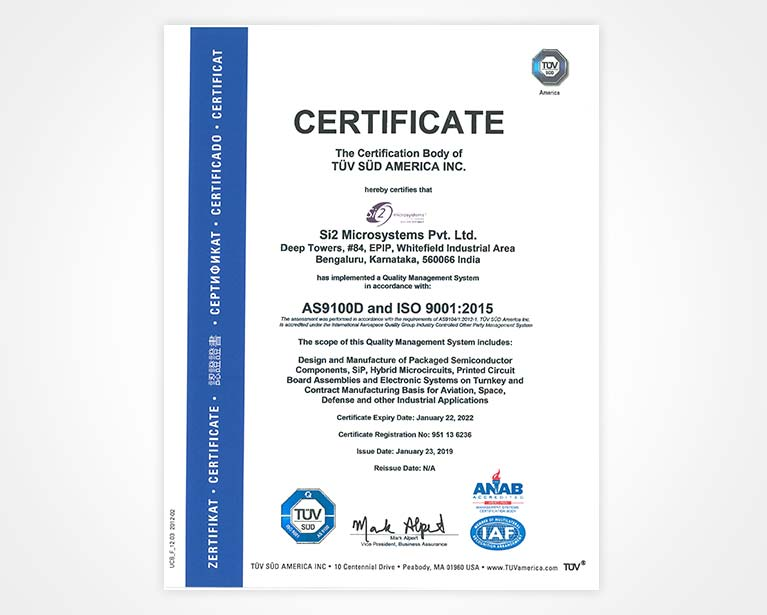 Company Profile Si2 Microsystems Pvt  Ltd, Bangalore,