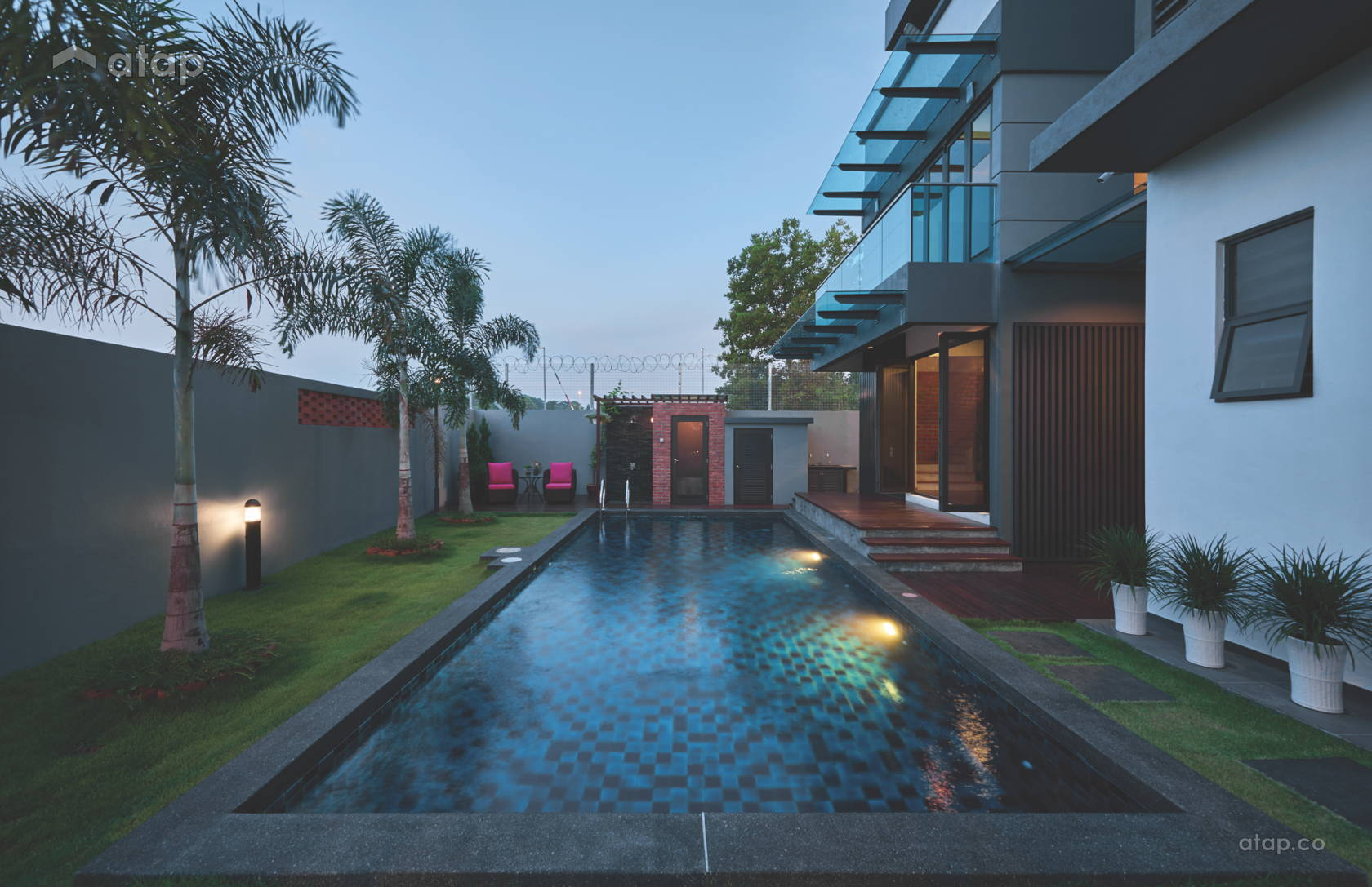 Contemporary Modern Garden @ Foreston Bukit Puchong