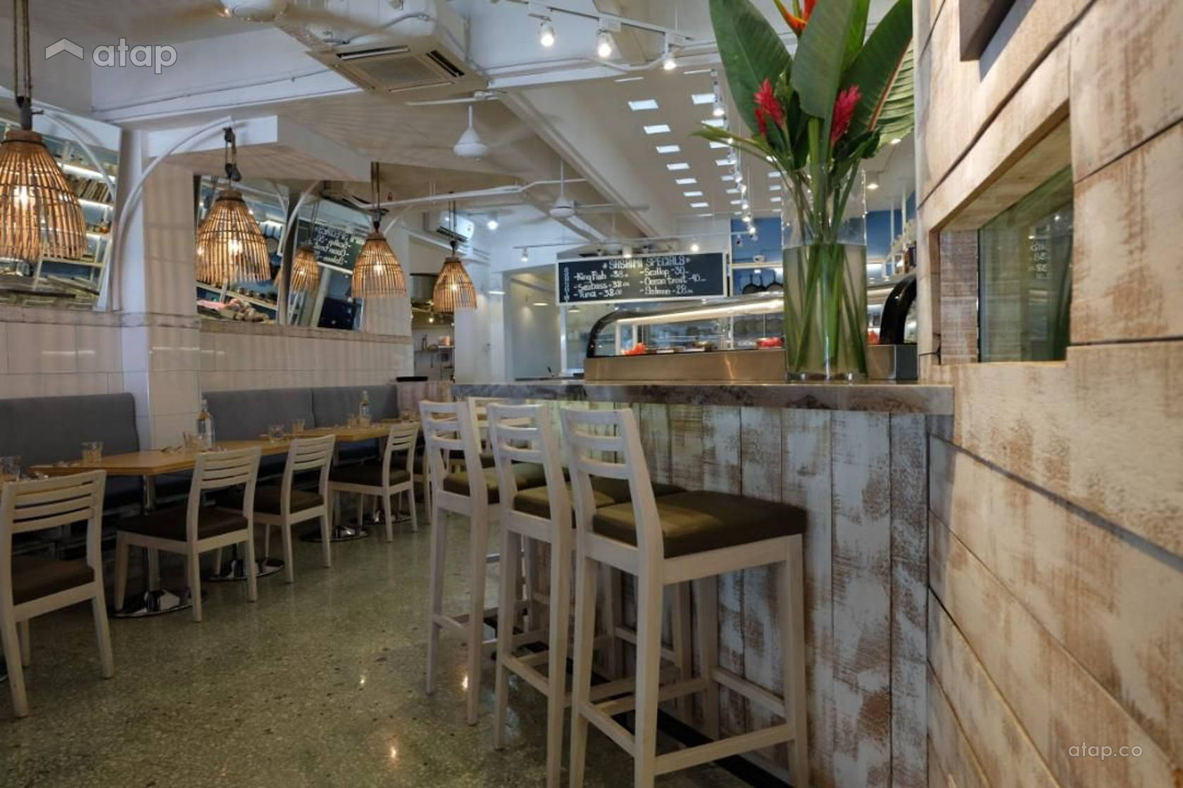 southern rock seafood restaurant expansion interior design 1 19