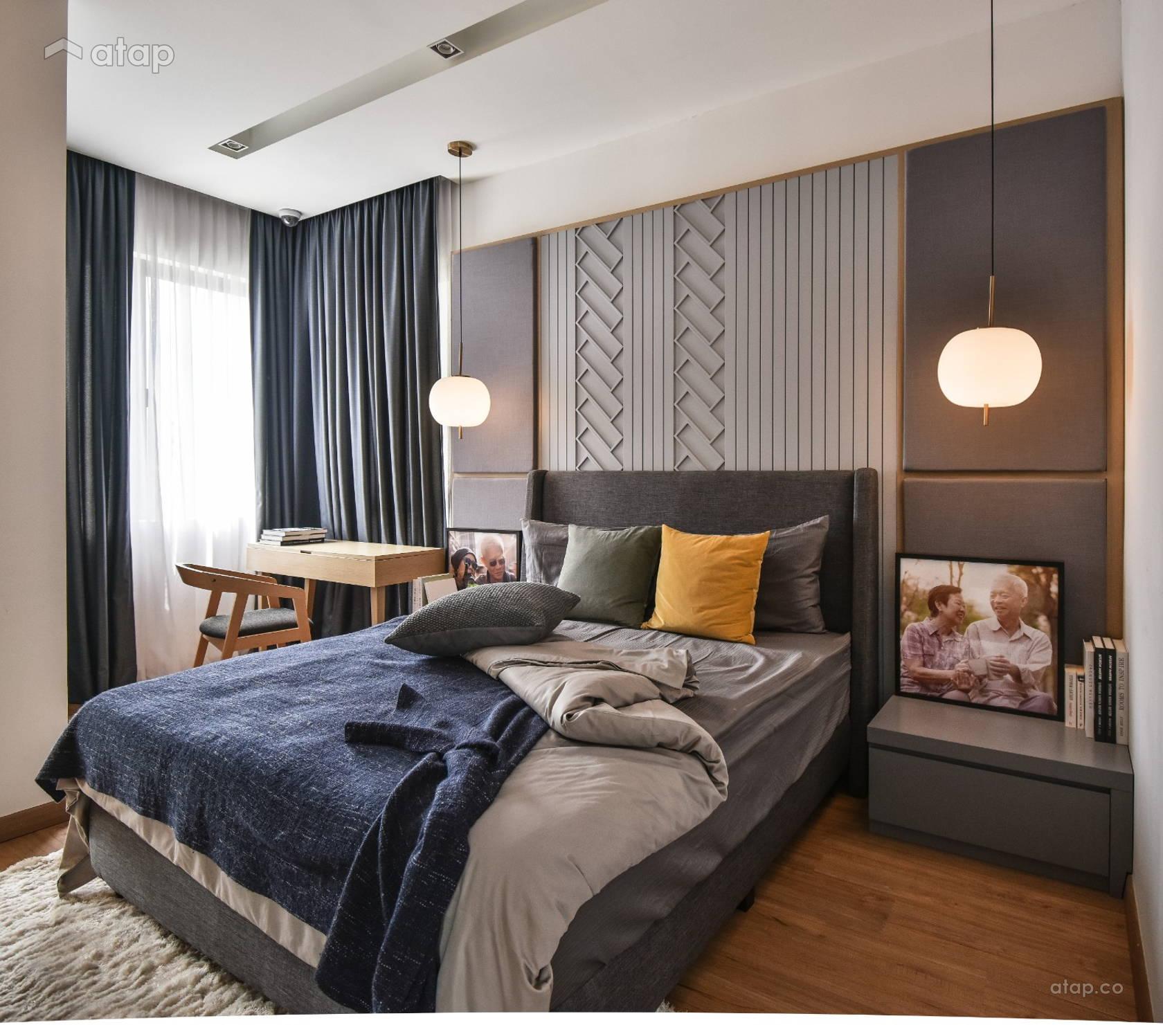 Contemporary Bedroom @ Gable @ TwentyFive.7