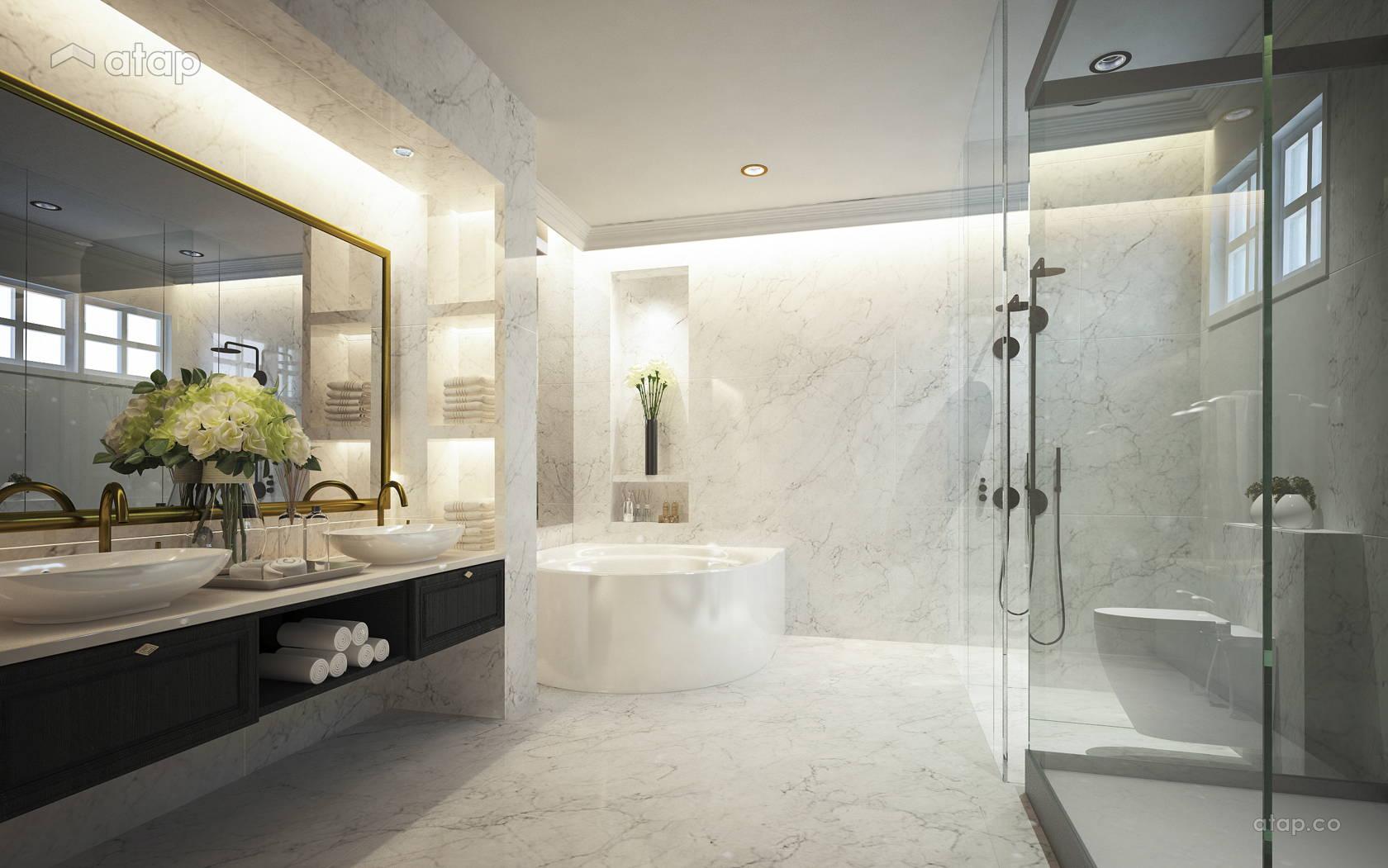 Classic Bathroom @ 4452 Bungalow, Johor Bahru