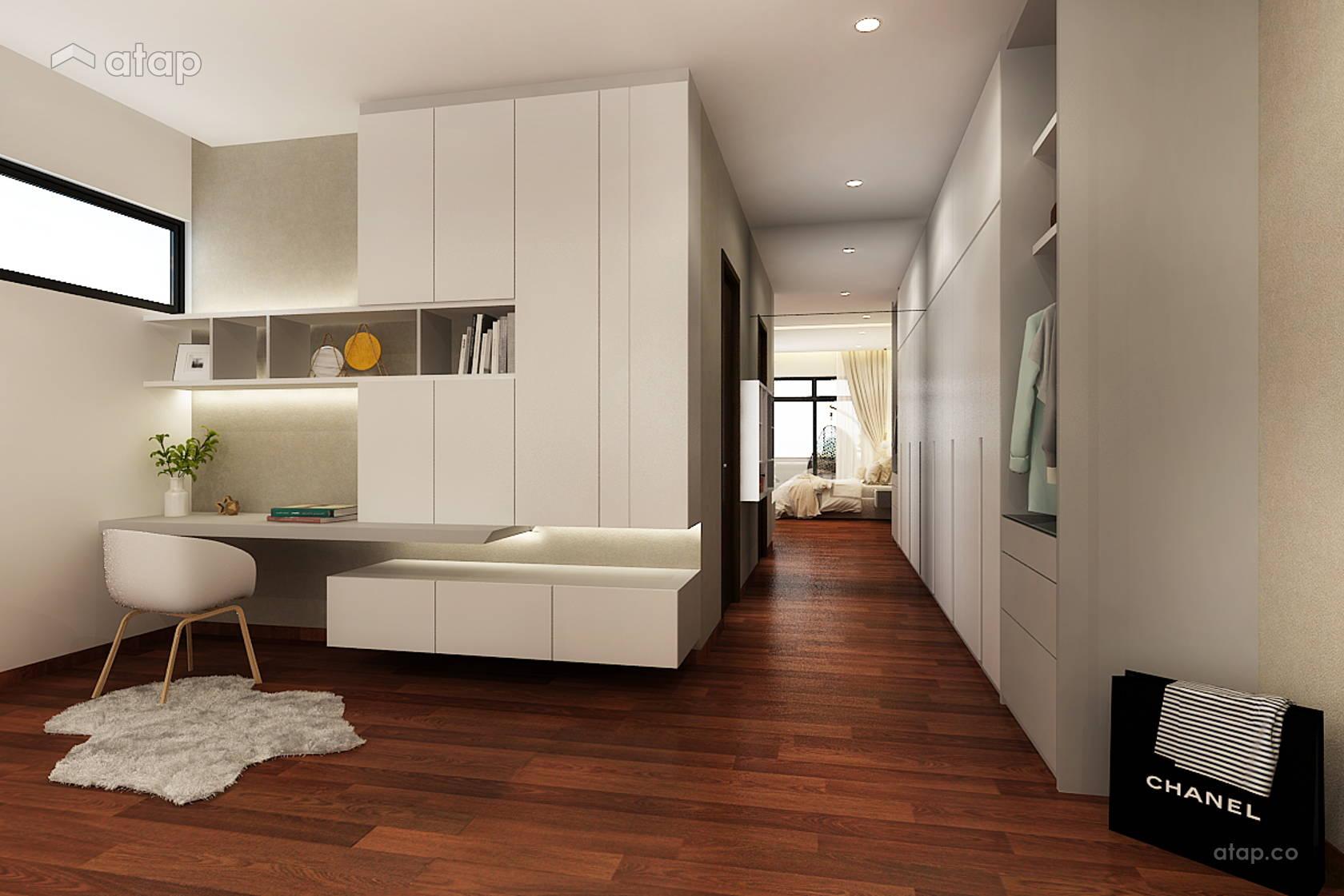 Modern study room bungalow design ideas photos malaysia - Modern study room ideas ...