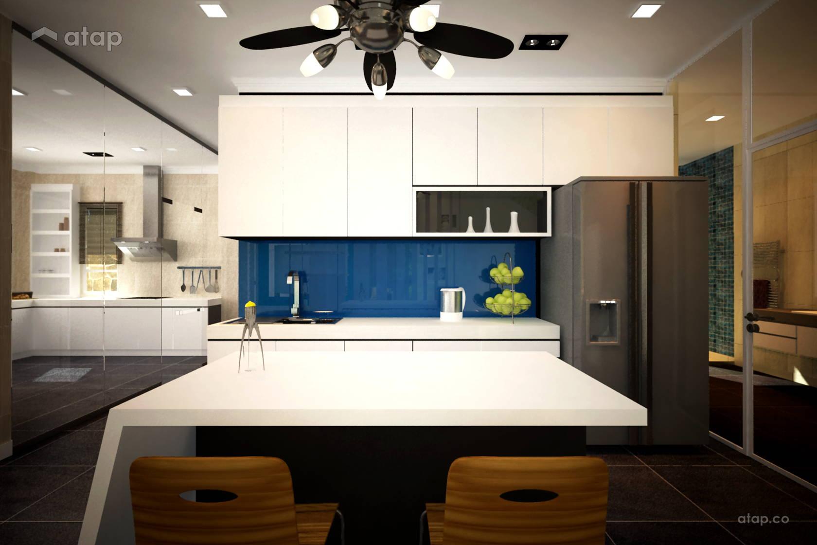 Contemporary Minimalistic Kitchen @ Taman Selesa - Semi-D
