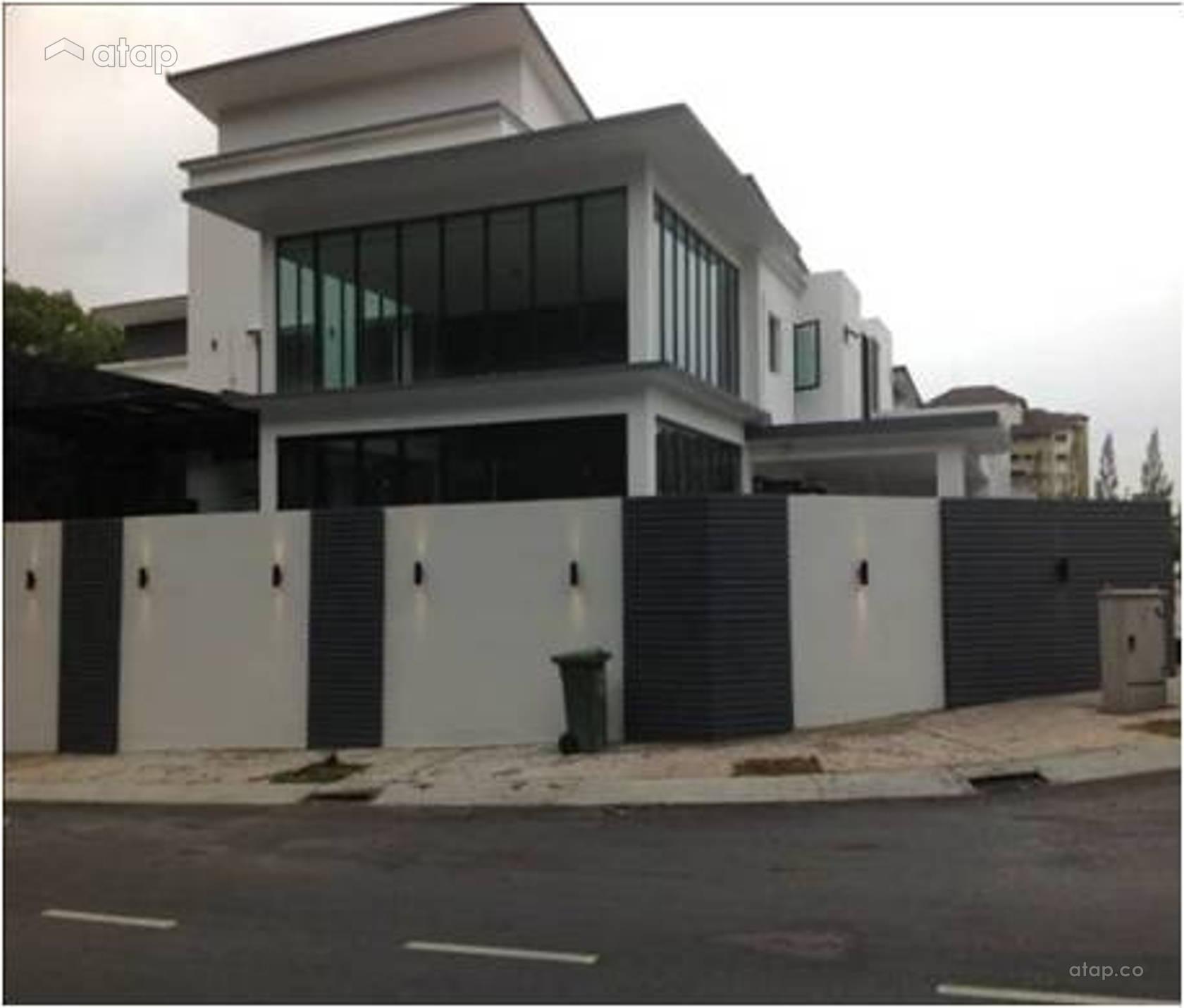 Home Design Ideas Malaysia: Contemporary Modern Exterior Semi-detached Design Ideas