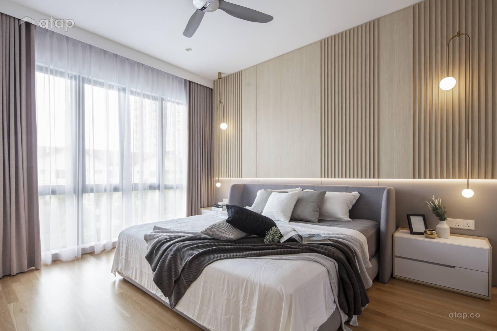 Contemporary Minimalistic Bedroom @ The Lighthaus - Andes Villa