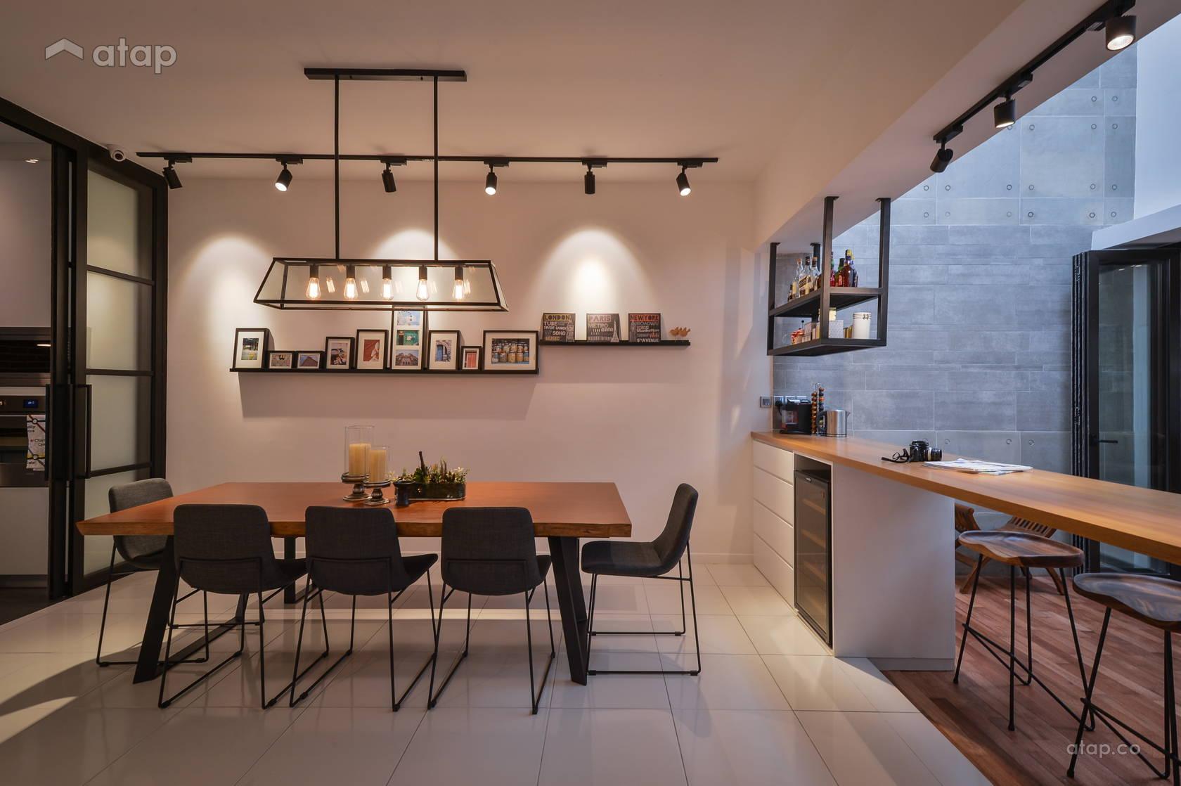 Contemporary Modern Dining Room @ Denai Alam