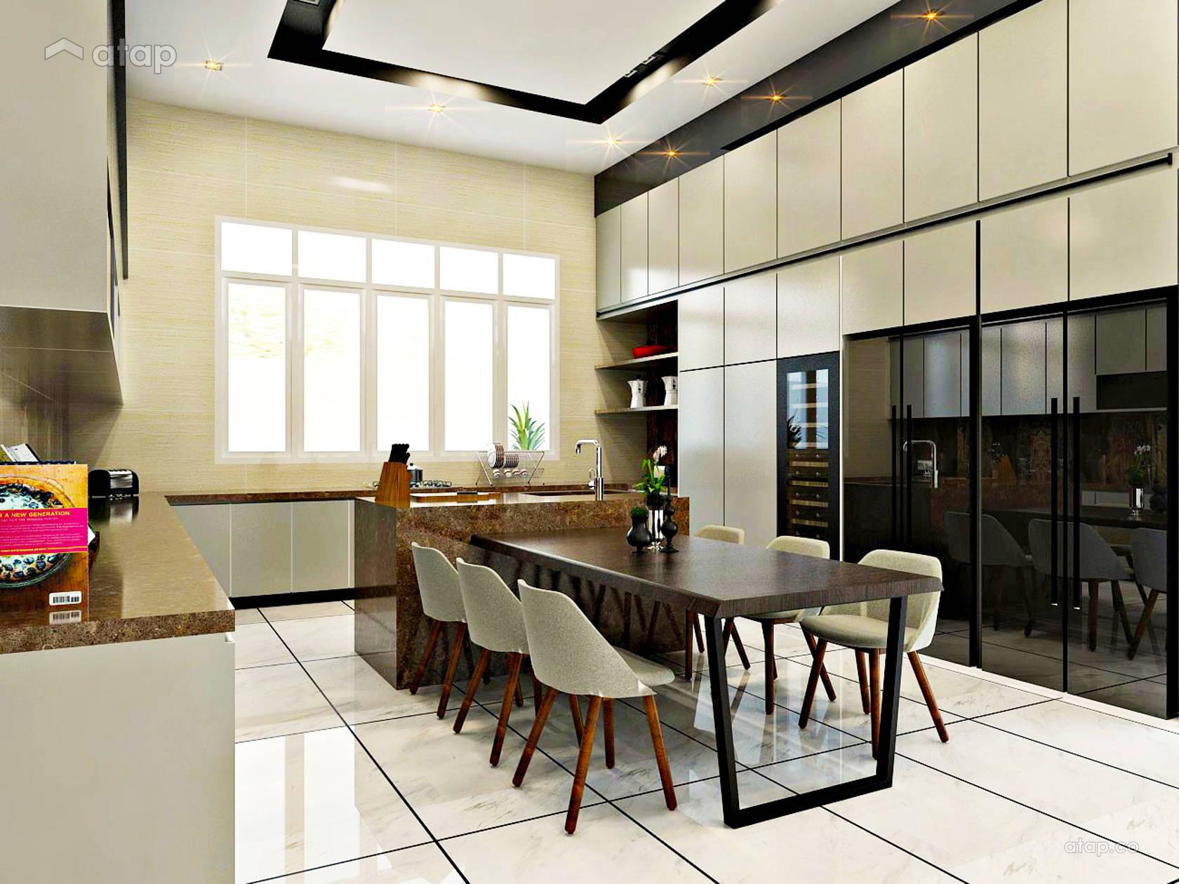 Modern Kitchen @ Dato's Sim House