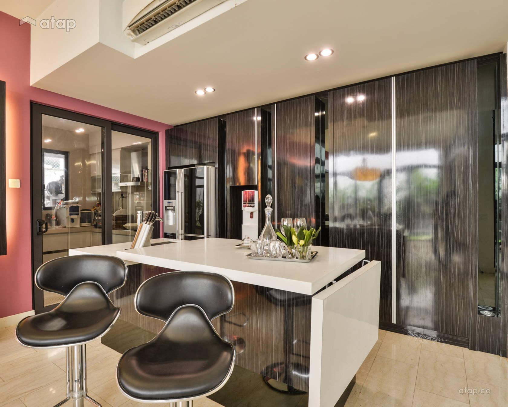 Contemporary Kitchen @ Mr. Johson Woo, banglow @ Bukit Jalil (MFID Award Winning Project)