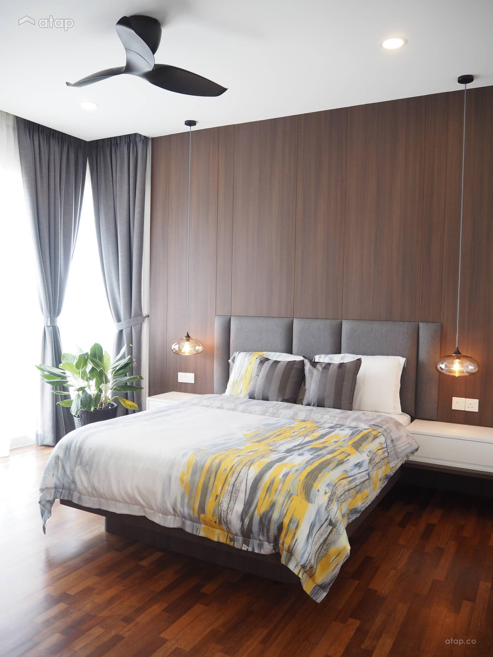 Minimalistic Modern Bedroom @ Modern Minimal Condo @ Cheras