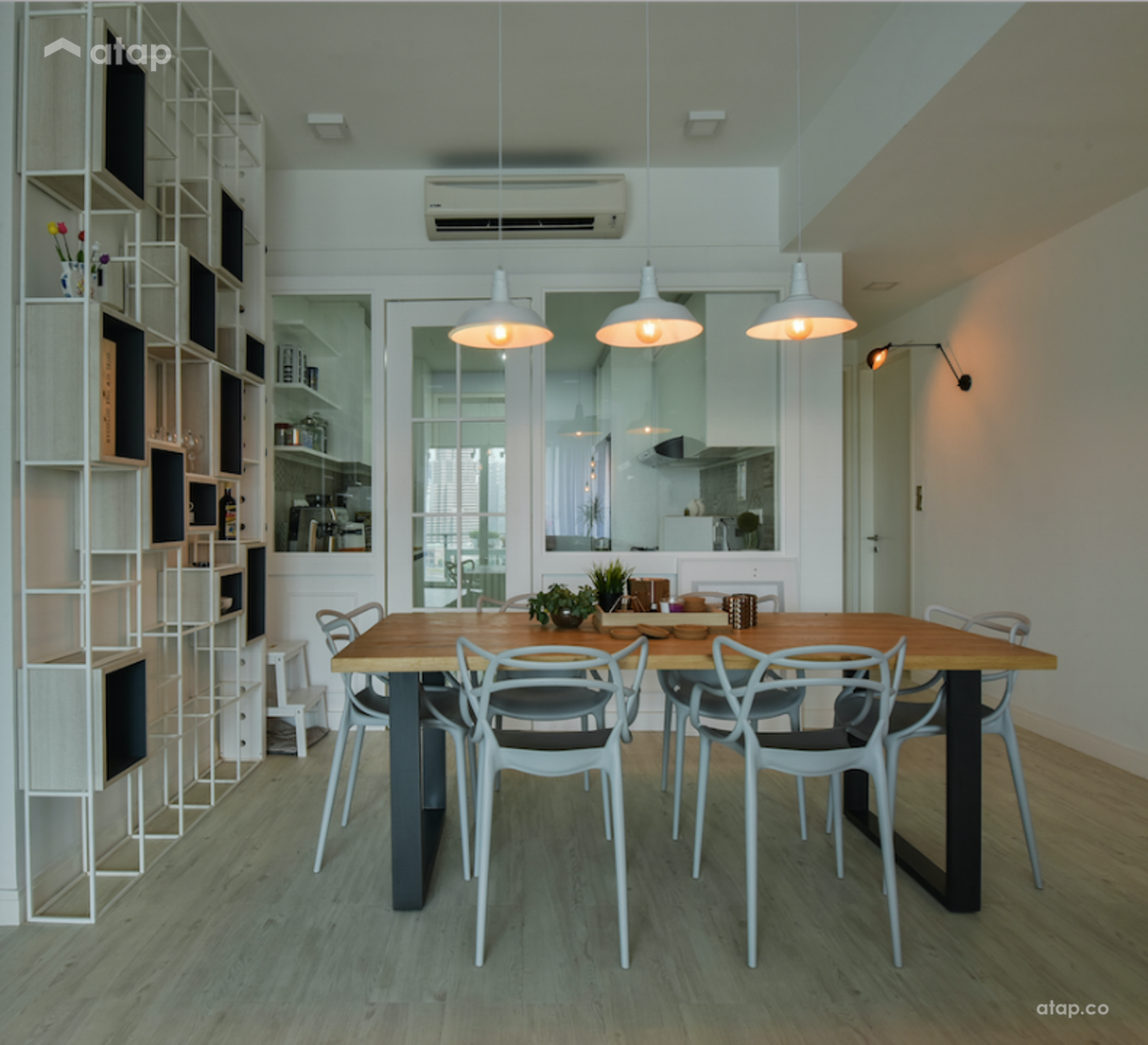 Scandinavian Dining Room @ KL Sky Residences