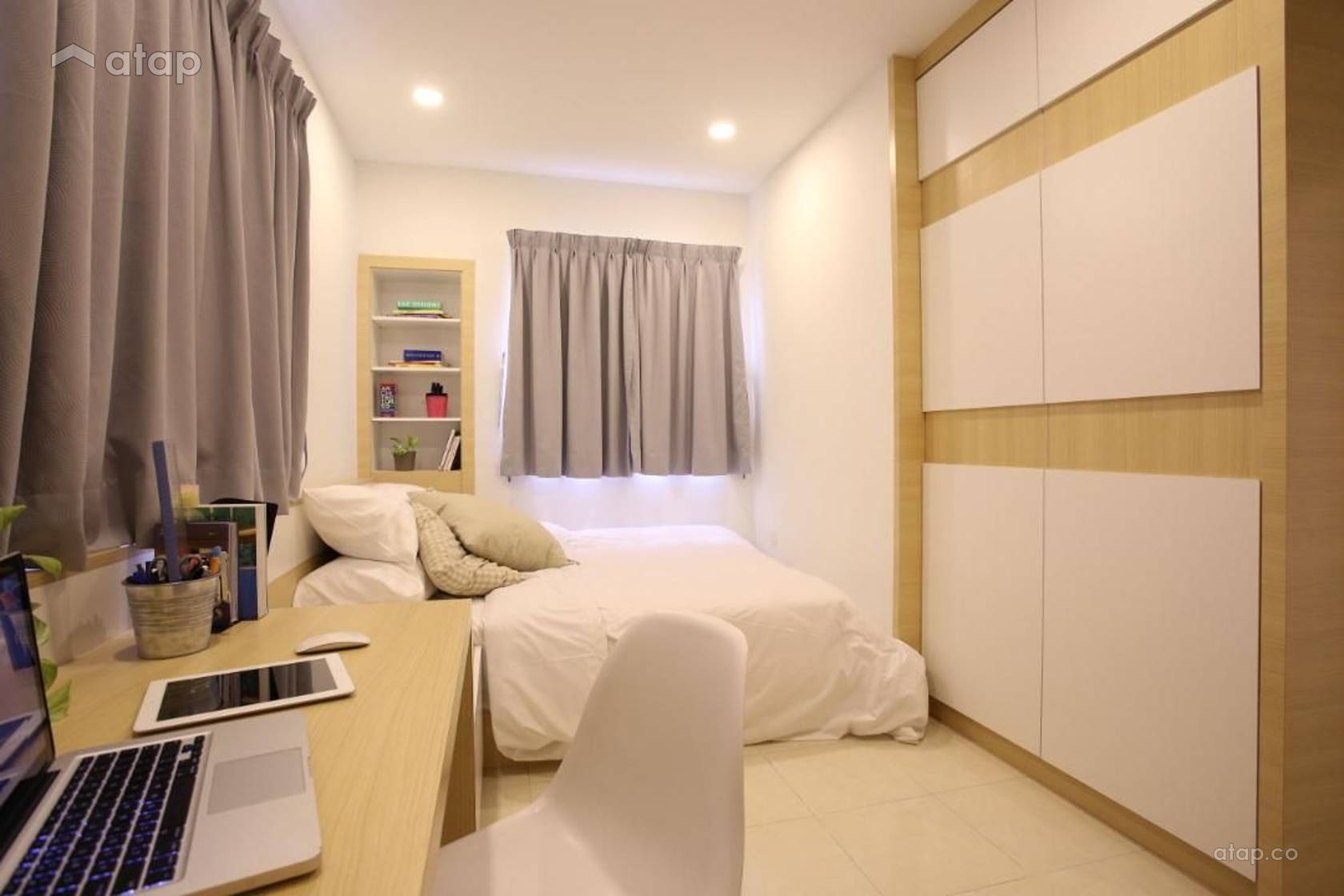 Scandinavian Bedroom @ Sri Ampang Hilir - Type B