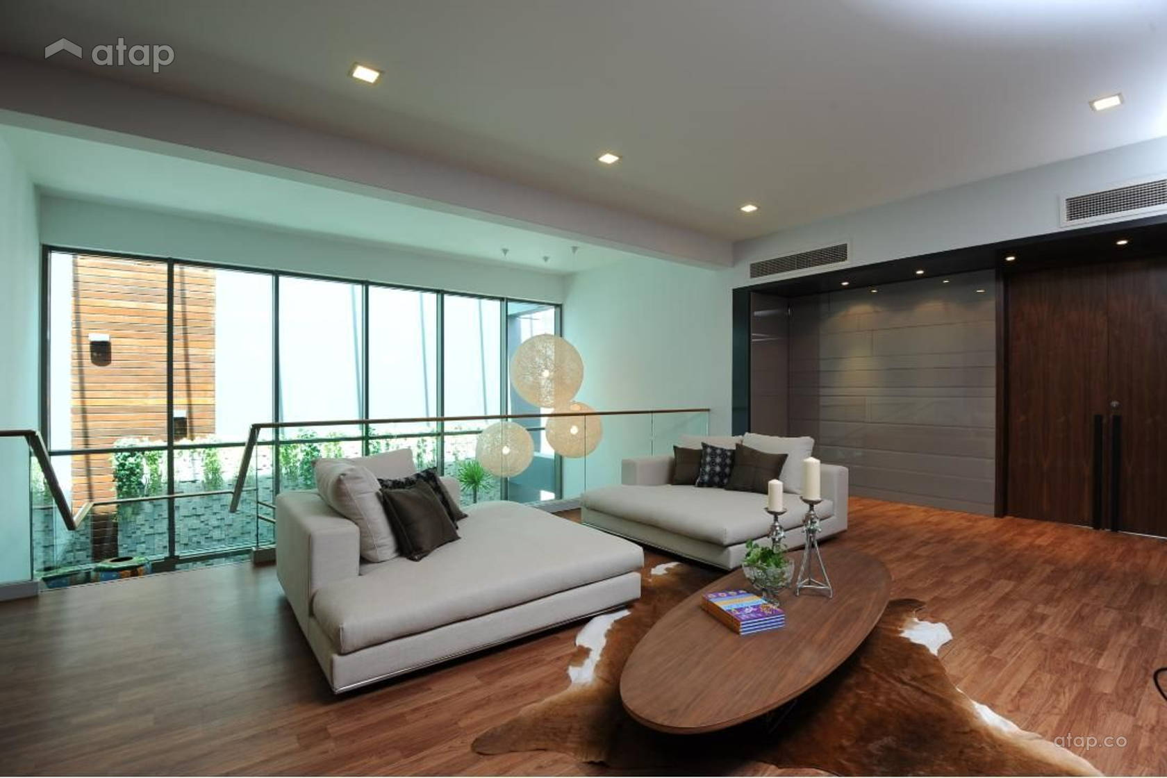 Contemporary Modern Living Room Condominium Design Ideas