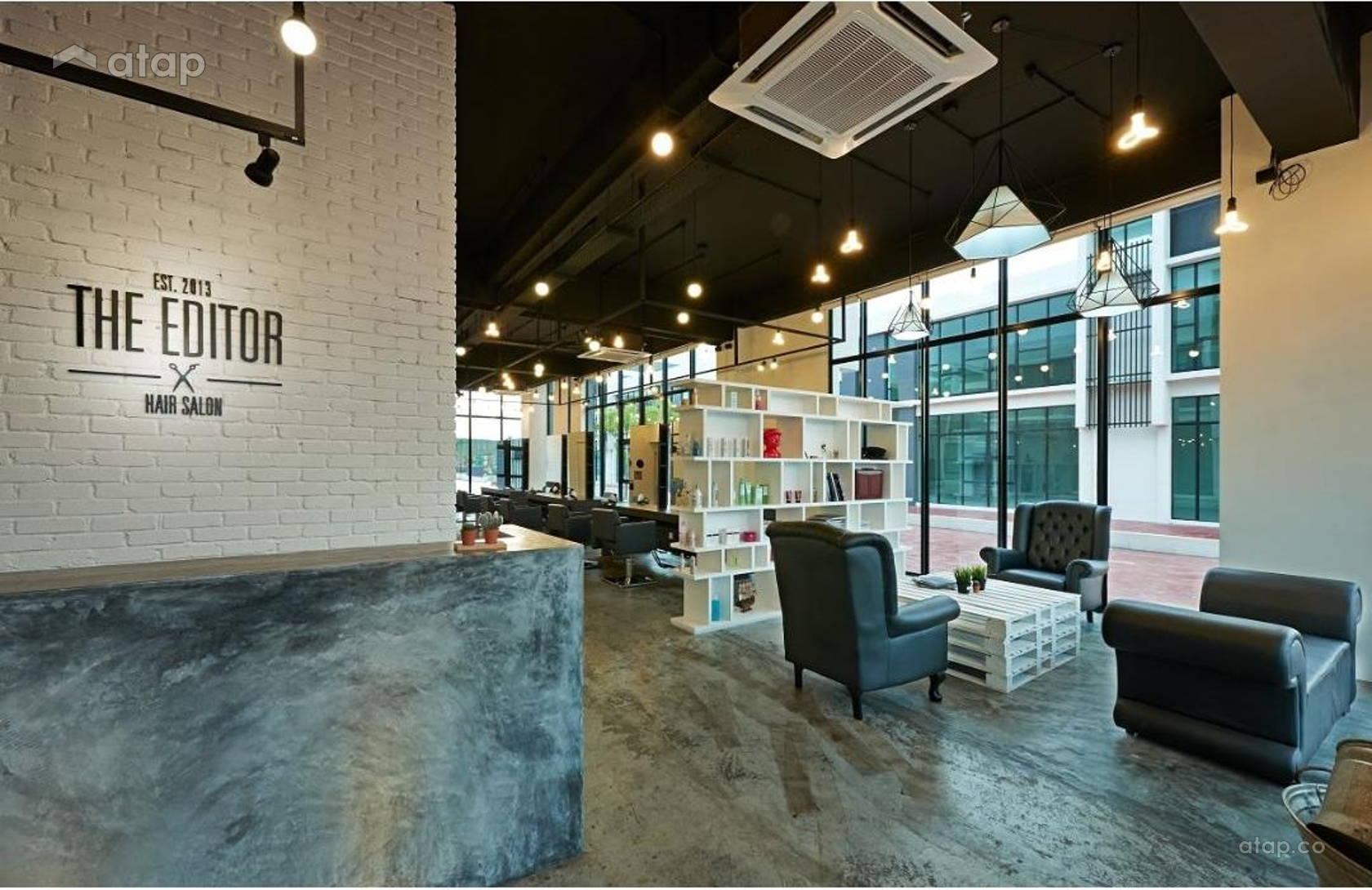 The Editor Hair Salon Ground Floor Interior Design Renovation Ideas ...