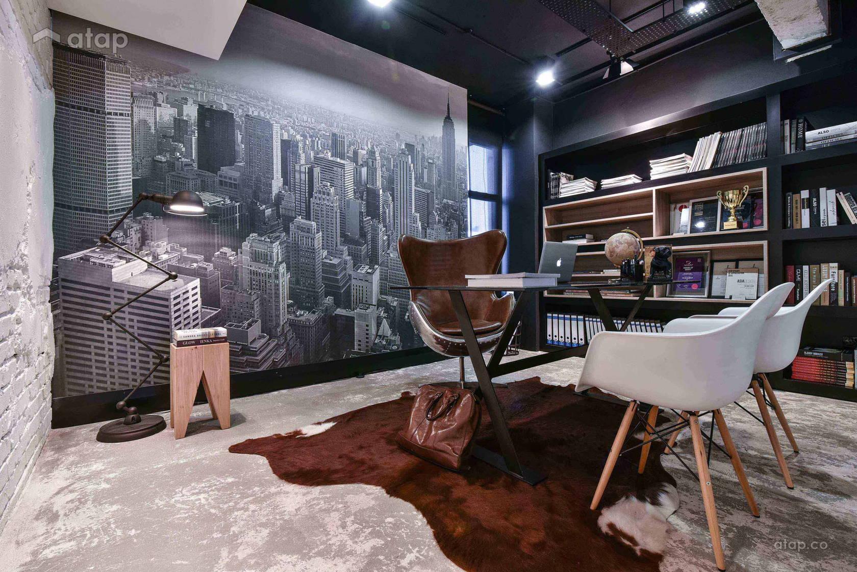 Industrial Scandinavian Office @ The Roof Lifestyle Concept Studio
