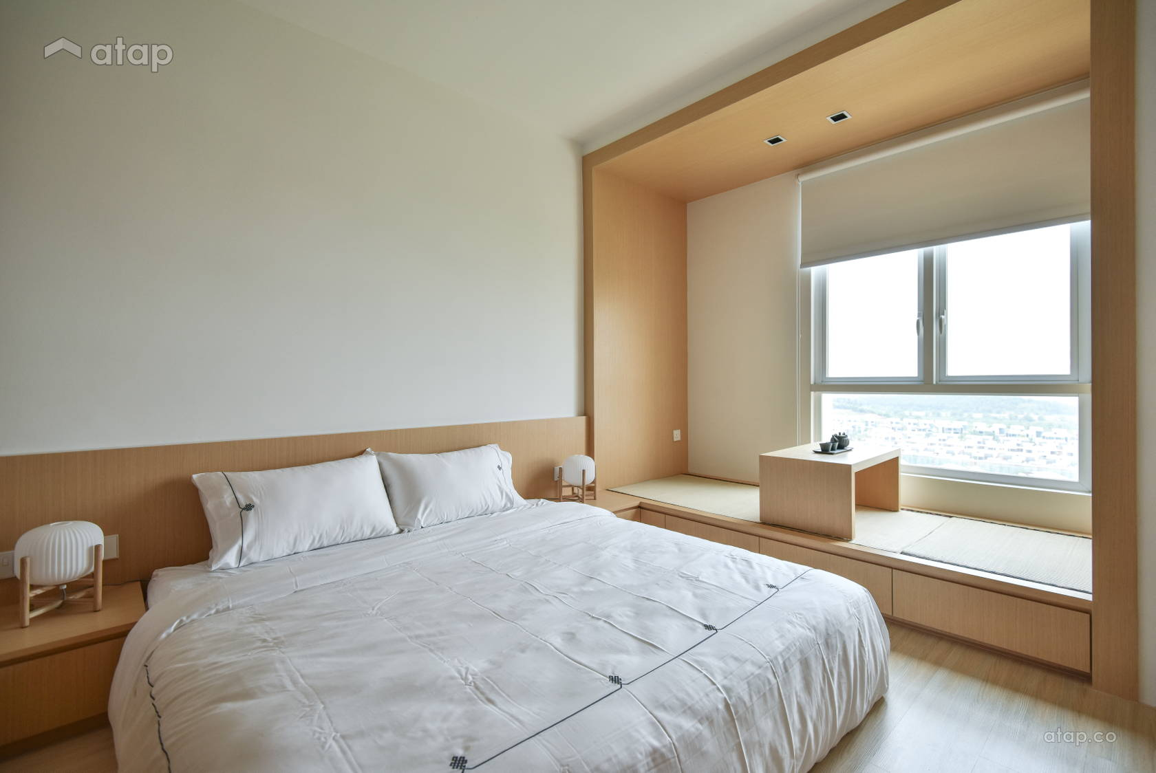 Minimalistic Zen Bedroom @ Verdi Condominium, Cyberjaya