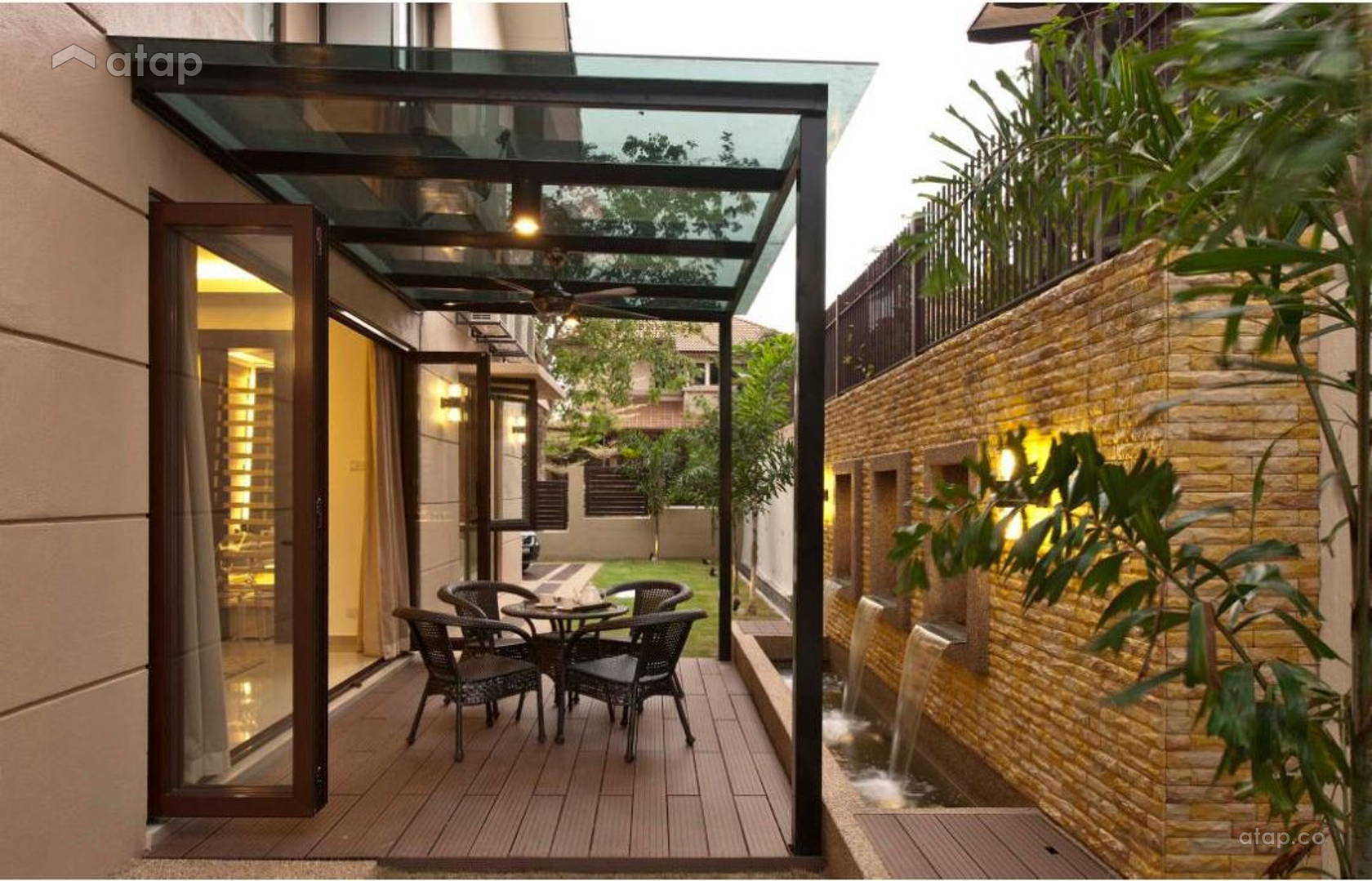 Garden Semi Detached Design Ideas Photos Malaysia Atap Co