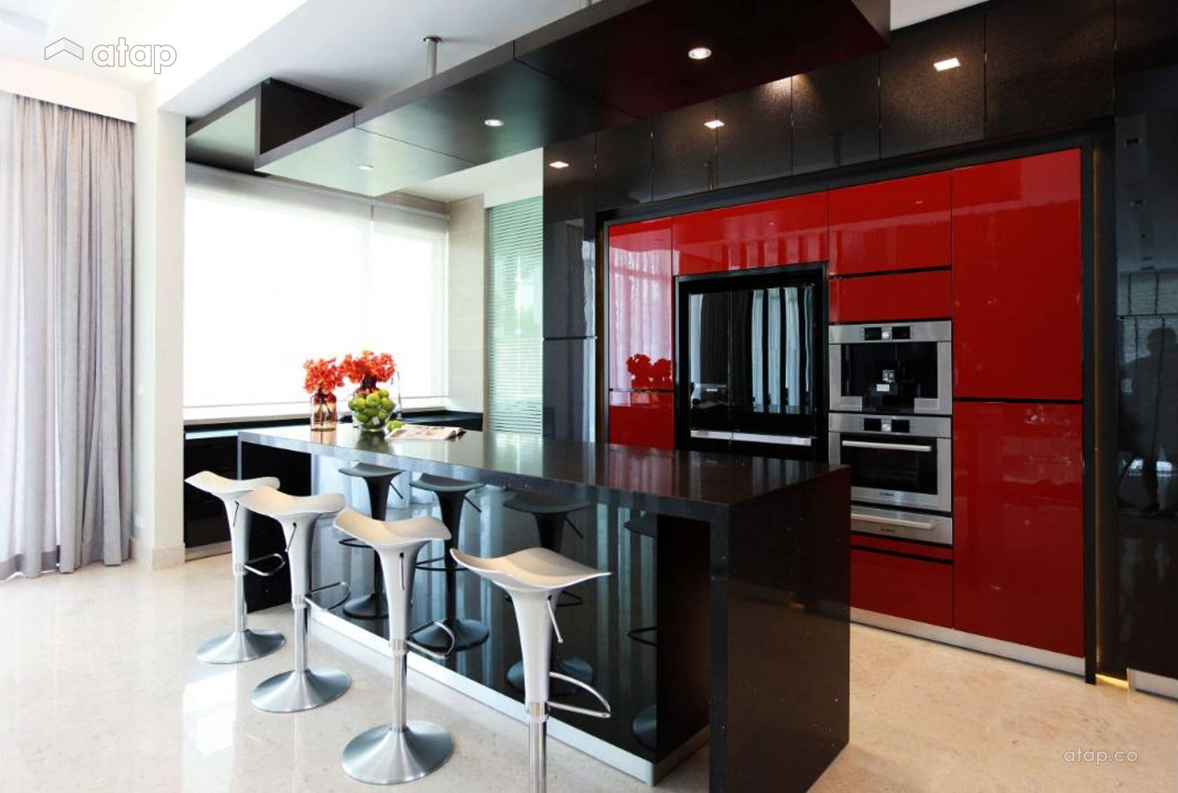 Contemporary Modern Kitchen @ Gan One Legenda Residence