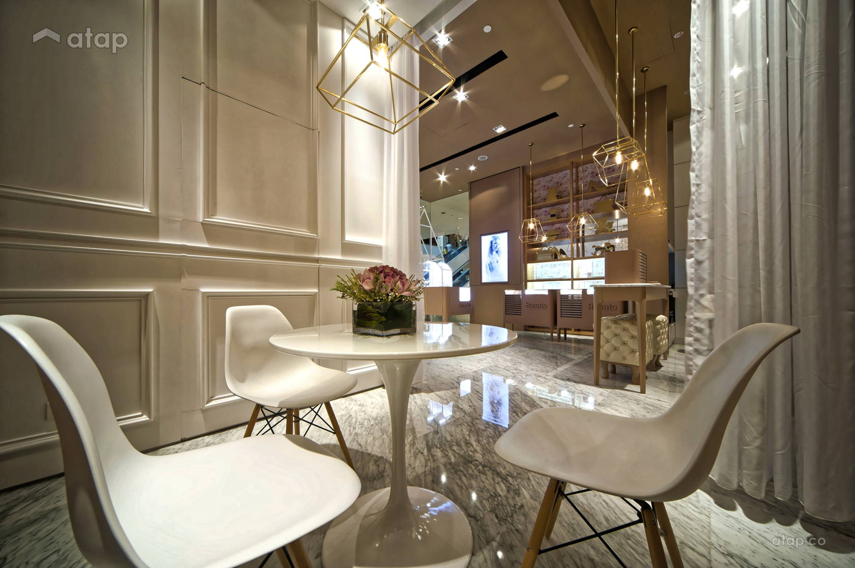 jewellery shop interior design ppt layout