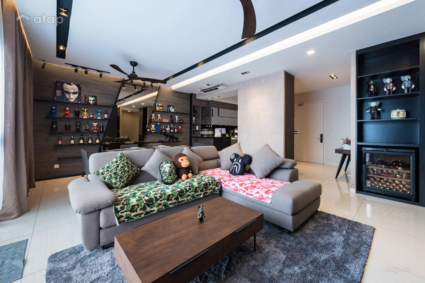 Modern Living Room @ Seri Riana Residence