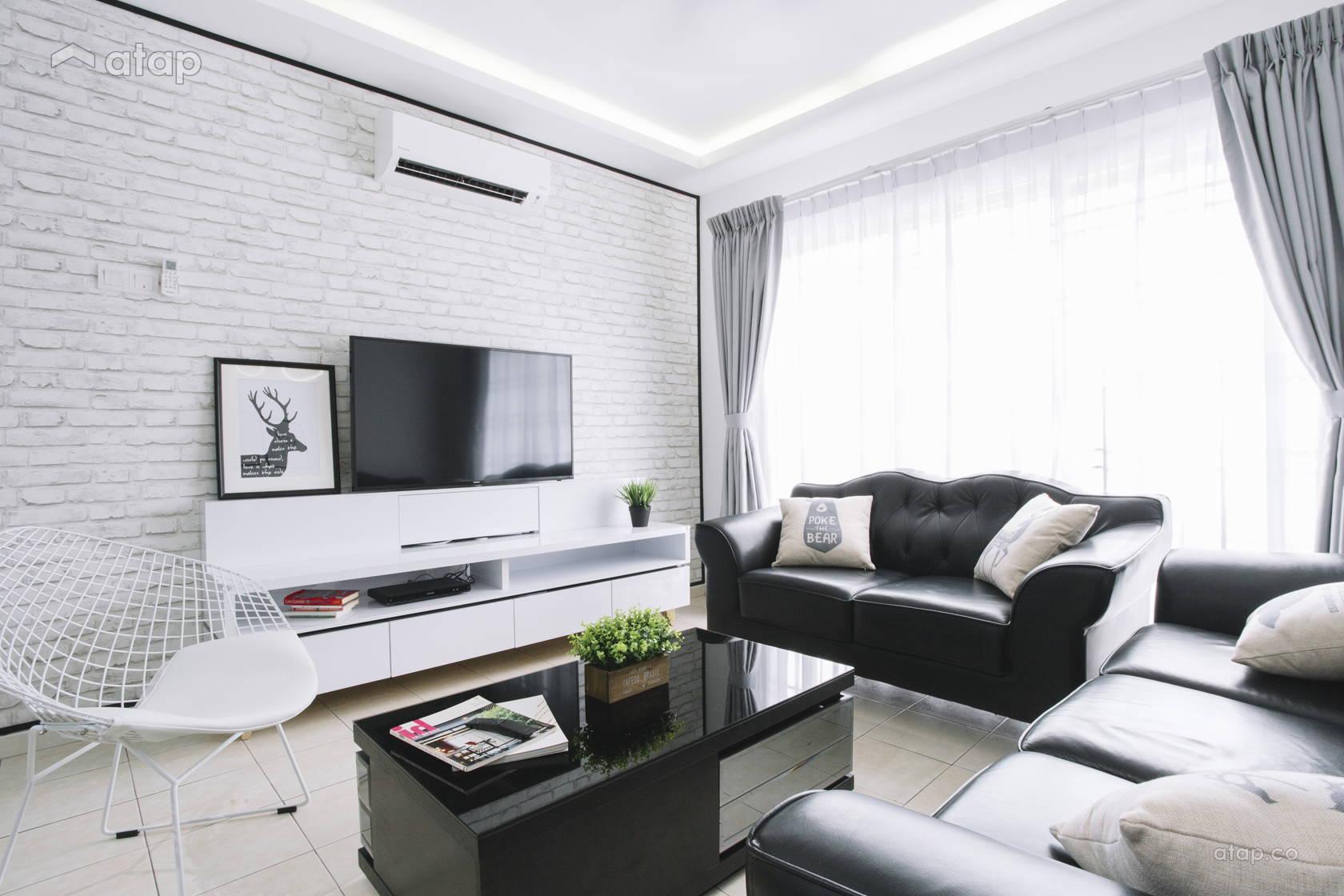 Contemporary Scandinavian Living Room @ Villa Ros | Tmn Tampoi Indah | Skudai | Johor Bahru | Malaysia