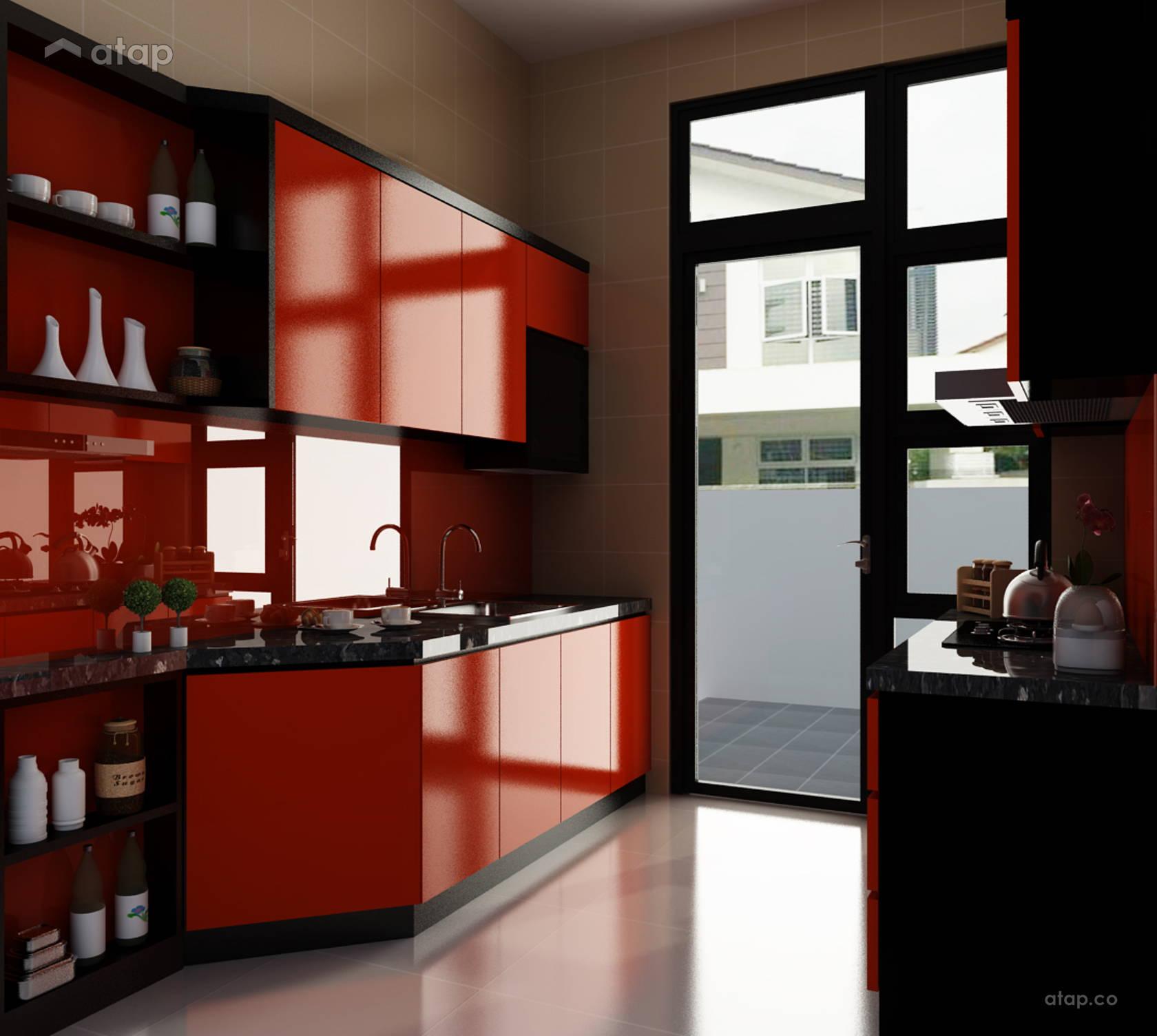 Contemporary Modern Kitchen Semi Detached Design Ideas: Modern Kitchen Semi-detached Design Ideas & Photos