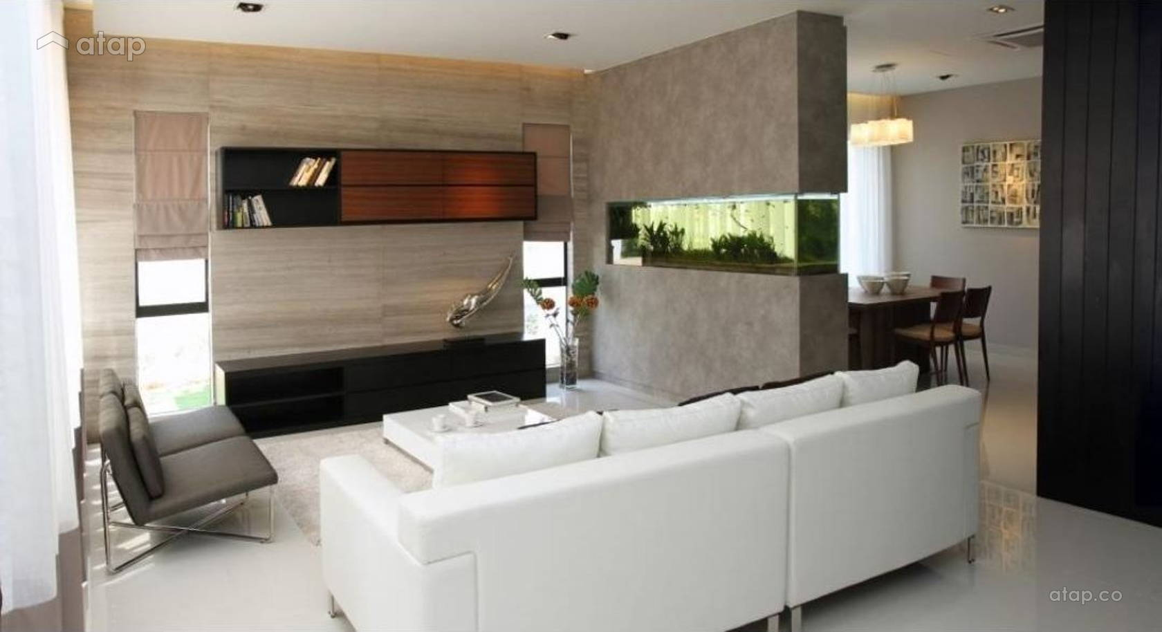 Contemporary Modern Living Room @ Sutera Damansara