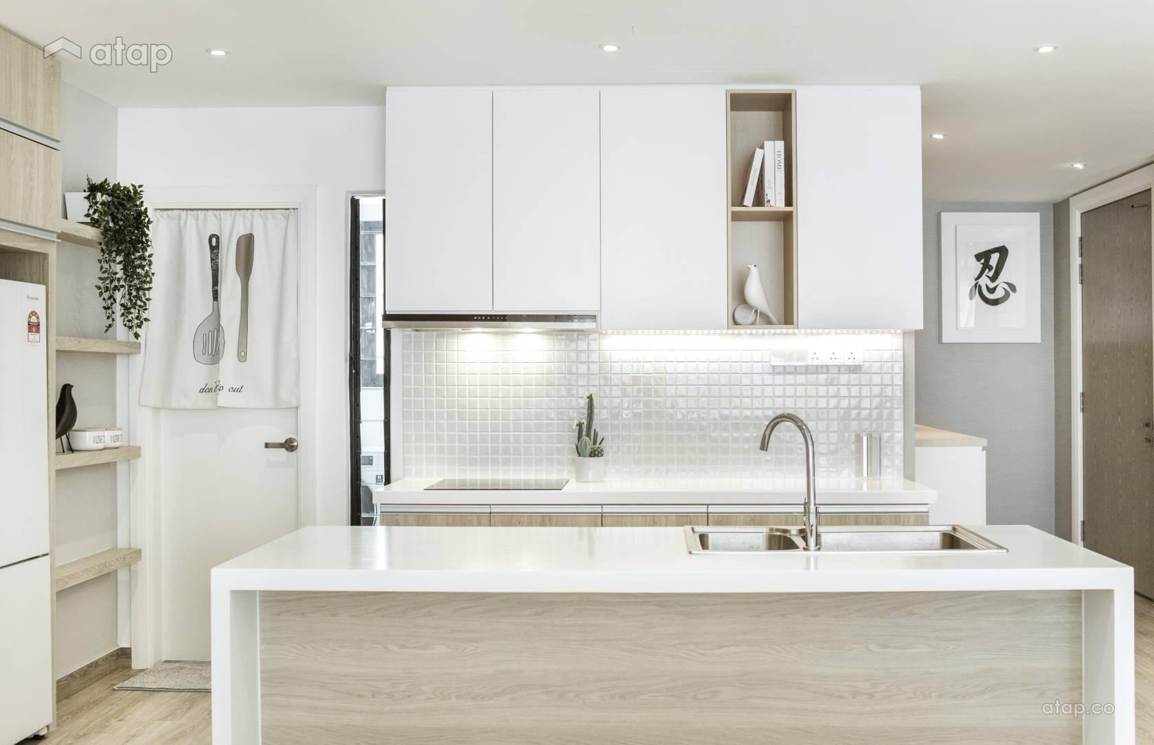 Minimalistic Zen Kitchen @ Condominium @ Southkey