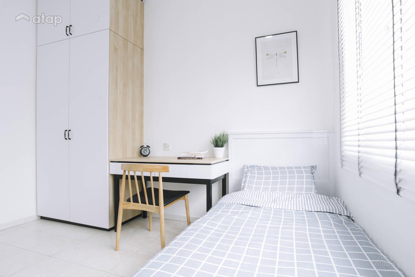 Contemporary Scandinavian Bedroom @ Villa Ros | Tmn Tampoi Indah | Skudai | Johor Bahru | Malaysia