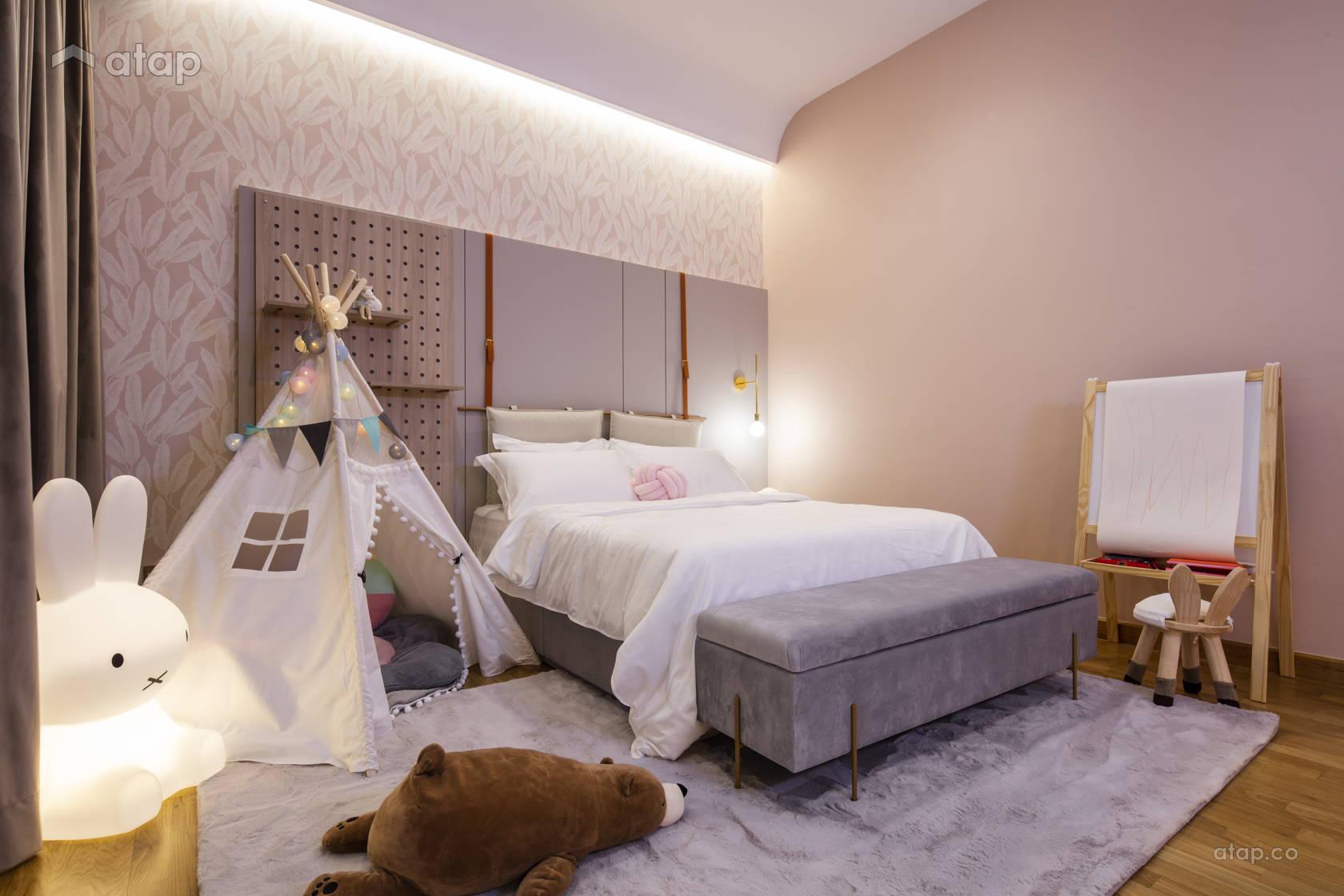 Contemporary Bedroom @ Anjali North Kiara
