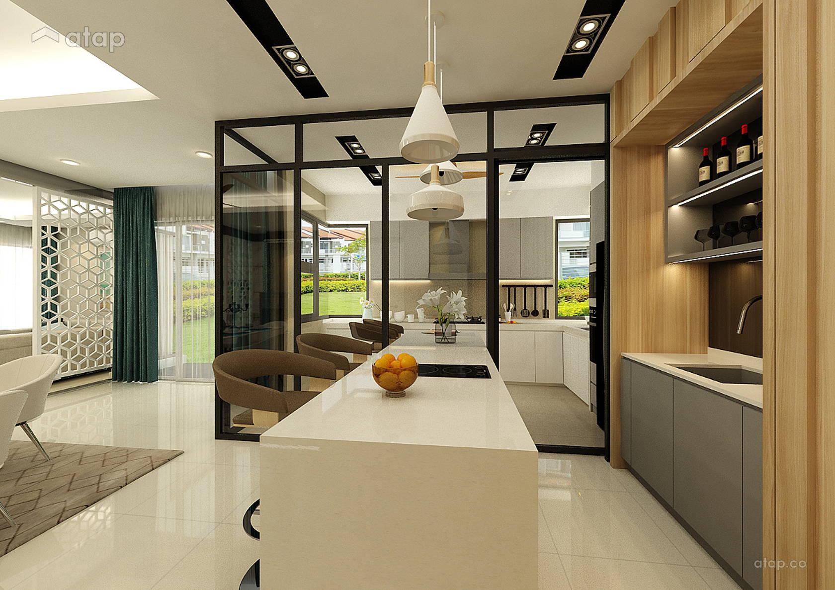 Contemporary Modern Kitchen @ Bandar Seri Coalfields