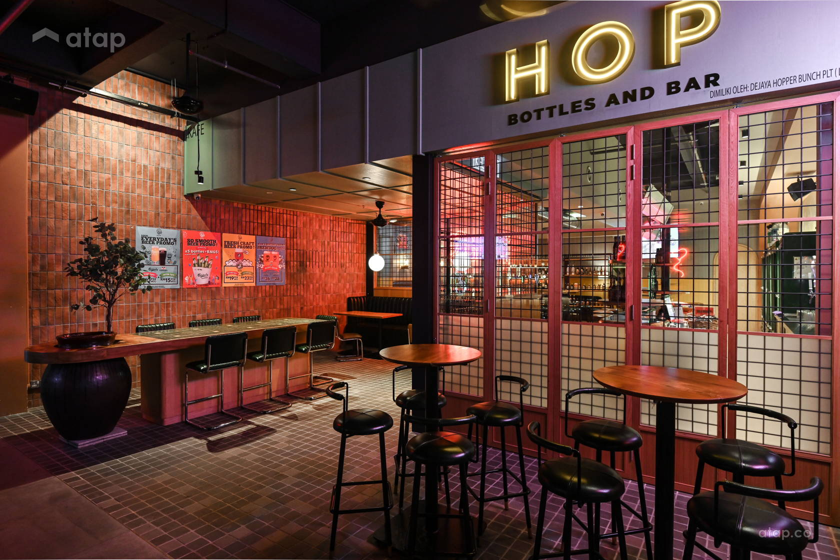 Modern Rustic F&B @ Hop Beer Bar