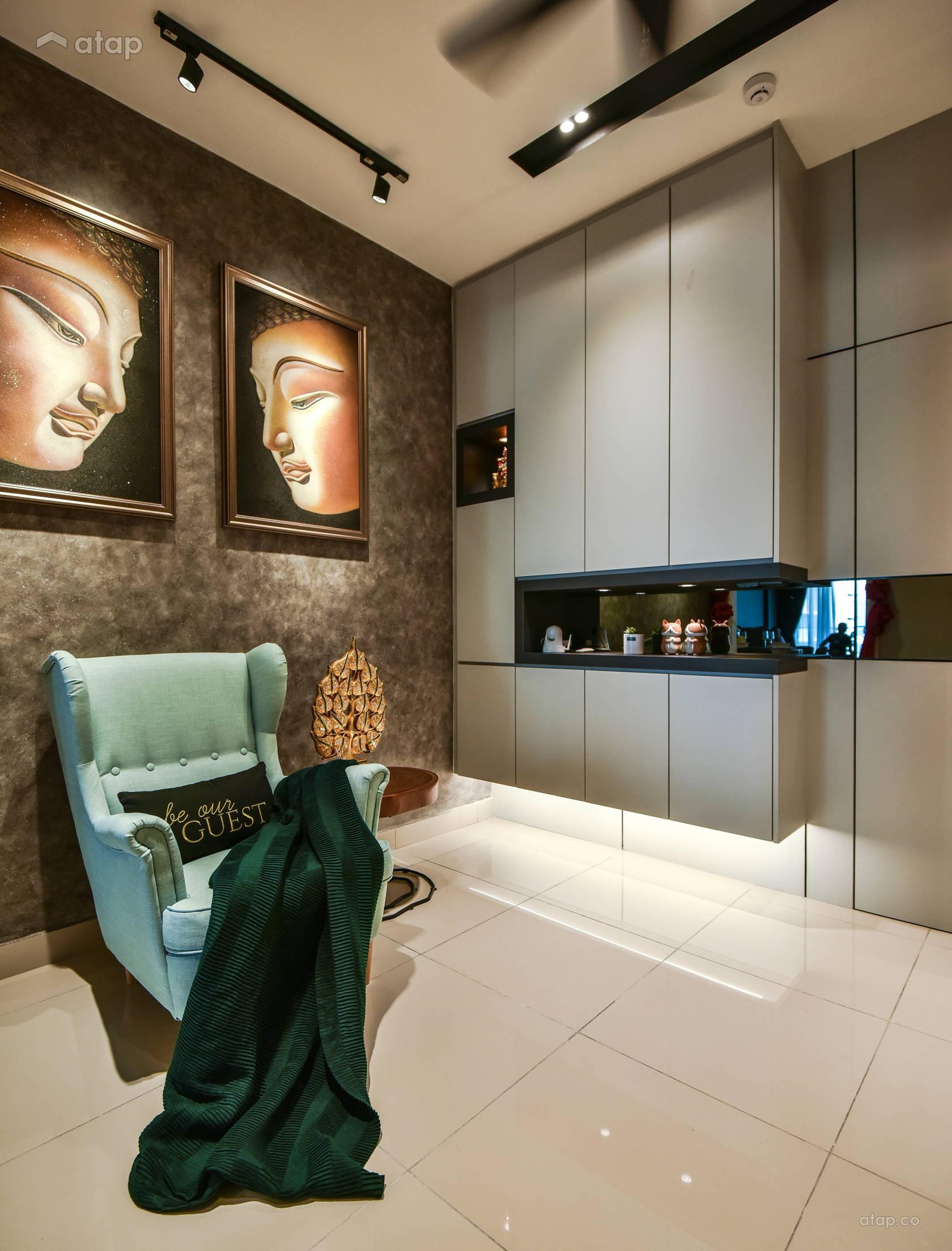 Contemporary Modern Foyer @ Anjali Residence Family Home