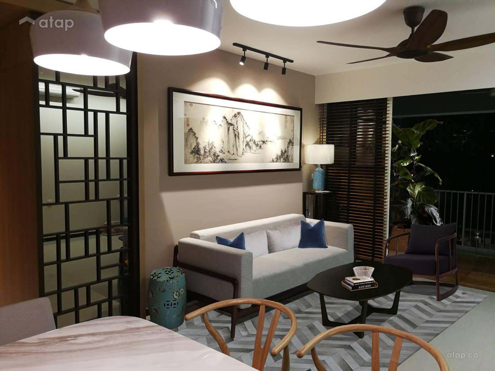 Modern Oriental, Singapore interior design renovation ideas ...