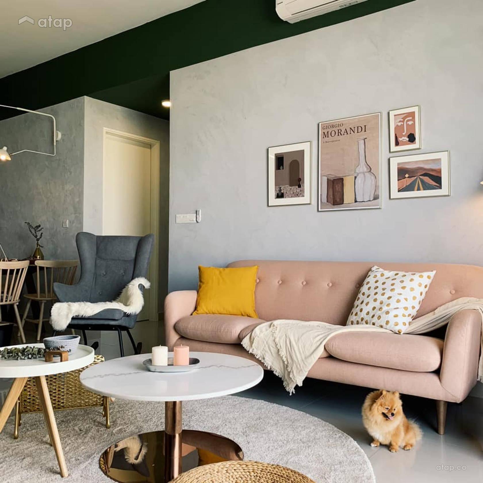 Contemporary Retro Living Room @ PLANT   LIFE Share This Professional