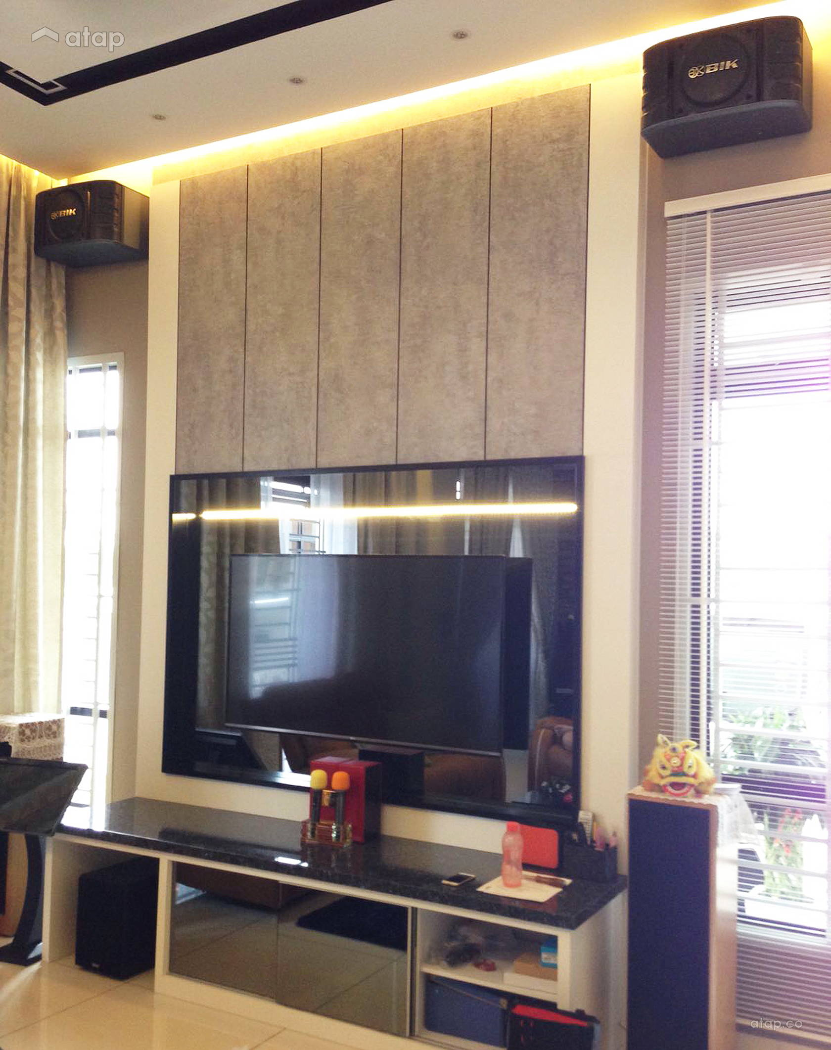 Home Design Ideas Malaysia: Classic Modern Living Room Semi-detached Design Ideas