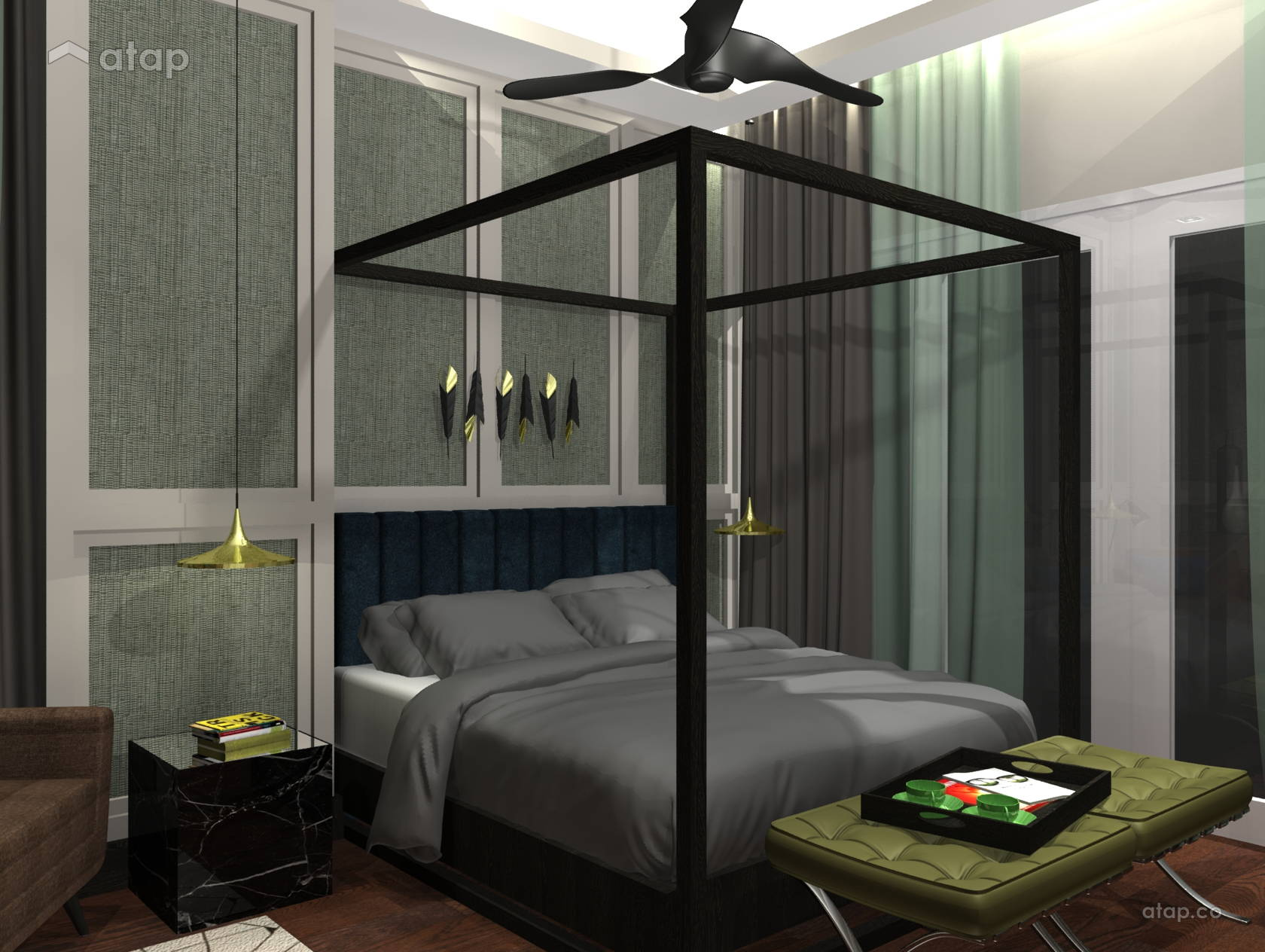 Modern Retro Bedroom Ideas 101