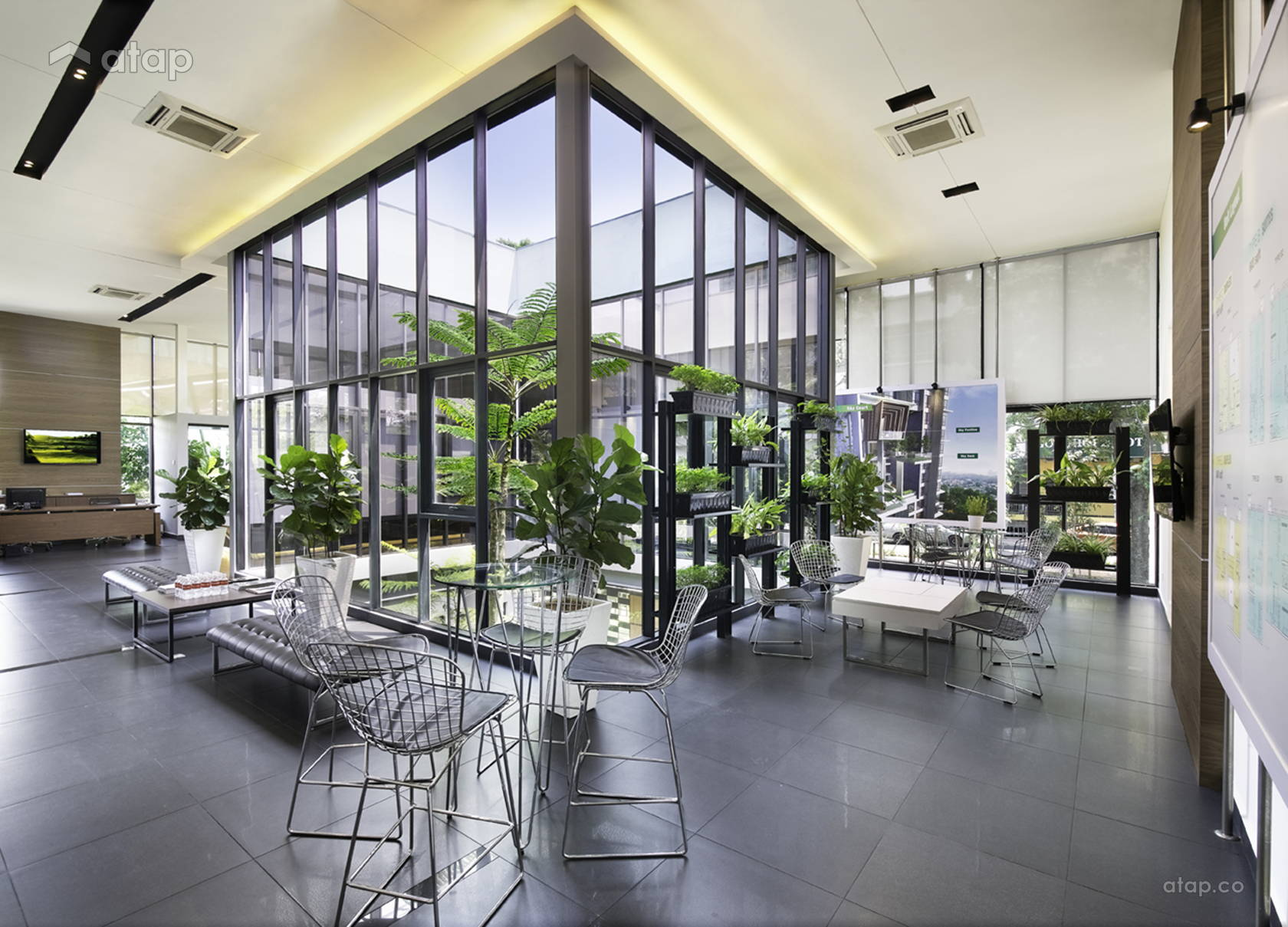 Contemporary Office @ High Park Residences - Show gallery and type C (duplex unit)
