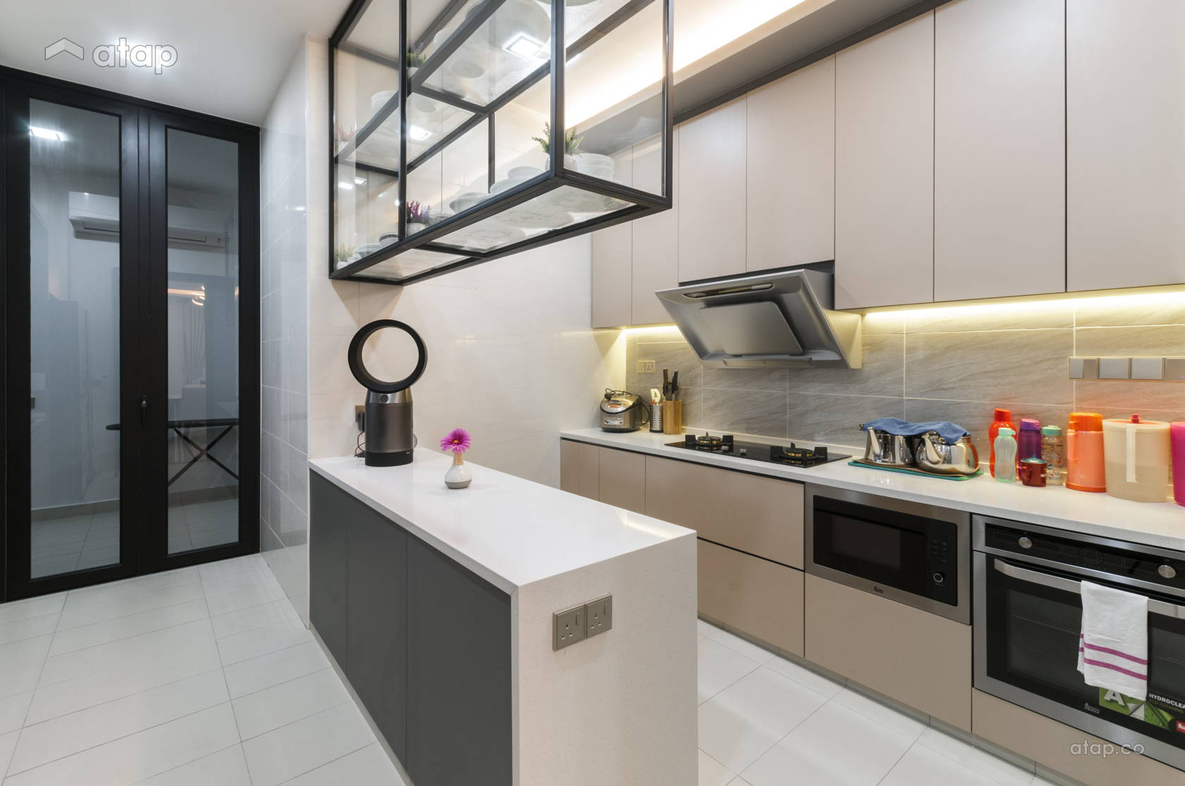 Modern Kitchen @ Eco Spring Bradford Residences