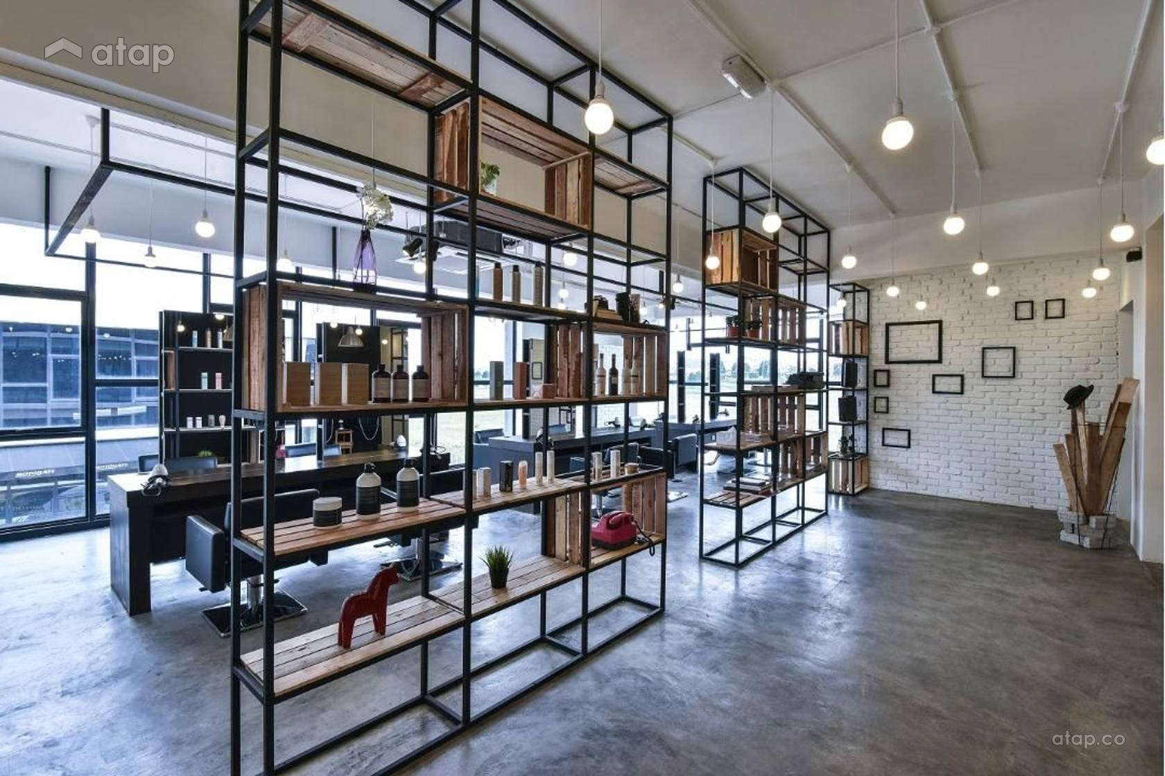 The Editor Hair Salon First Floor Interior Design Renovation Ideas ...