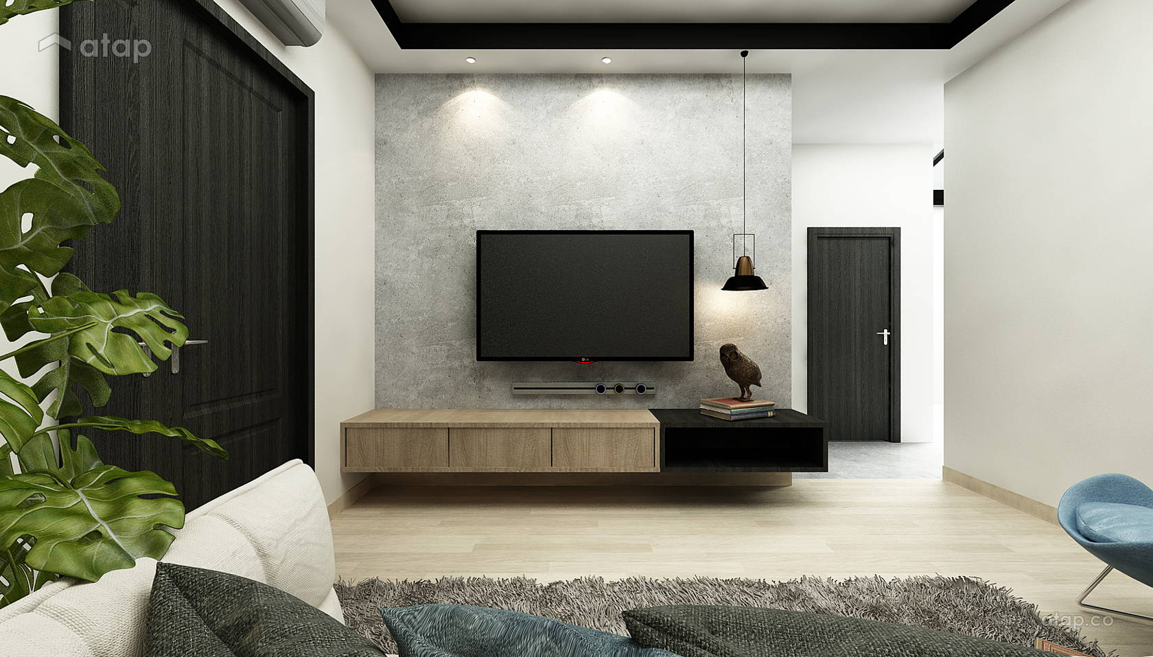 Single Storey Terrace House - SS12 architectural & interior ...