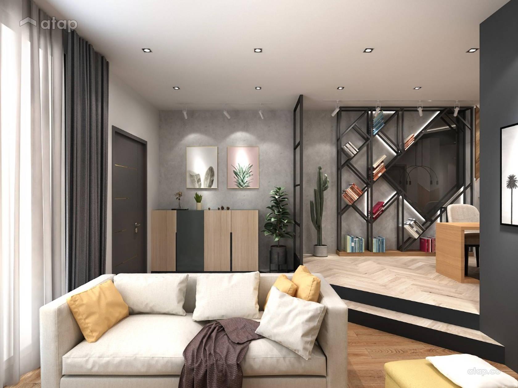 Classic Contemporary Family Room Living Room Terrace Design Ideas Photos Malaysia Atap Co