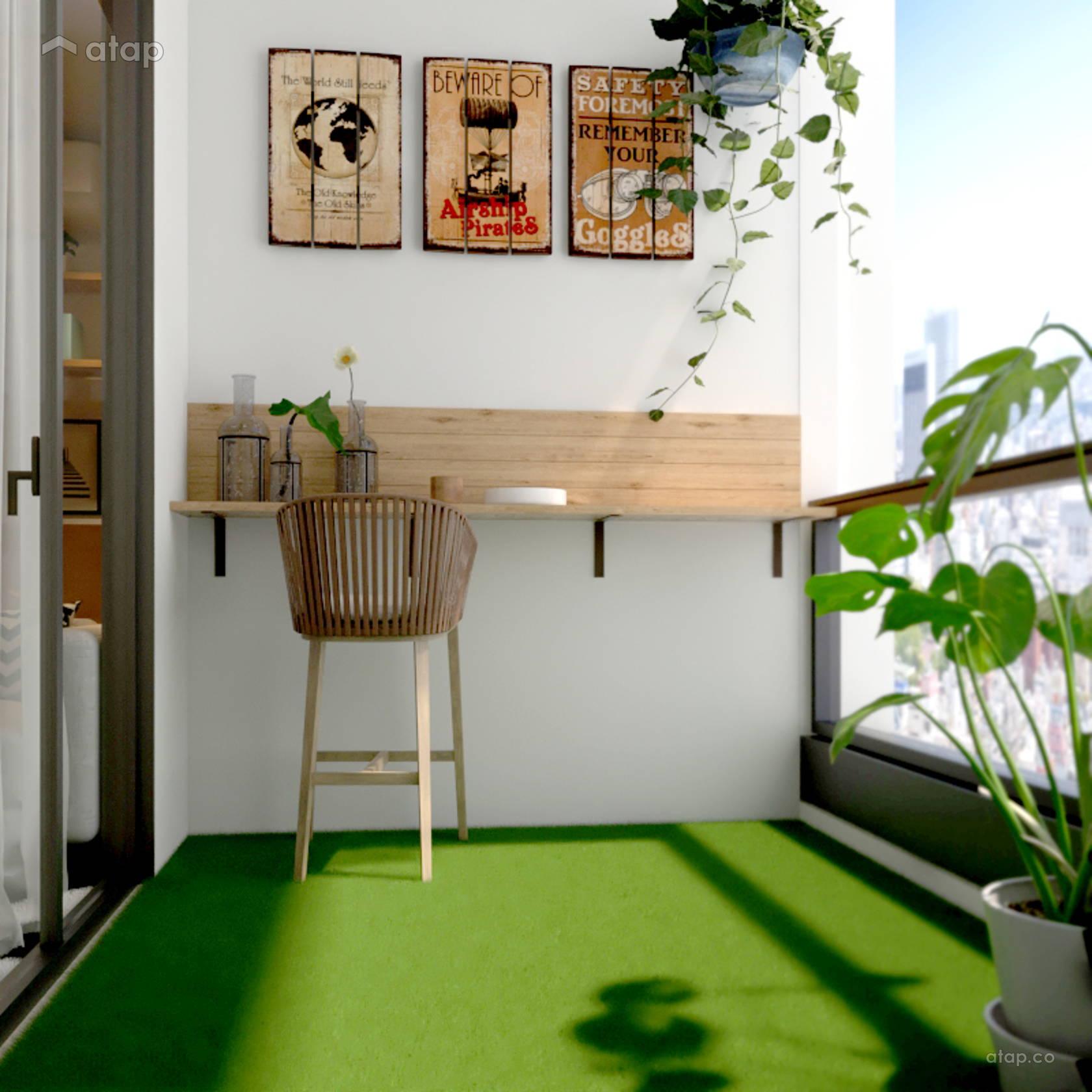 Atap.co & Scandinavian Balcony condominium design ideas \u0026 photos Malaysia ...