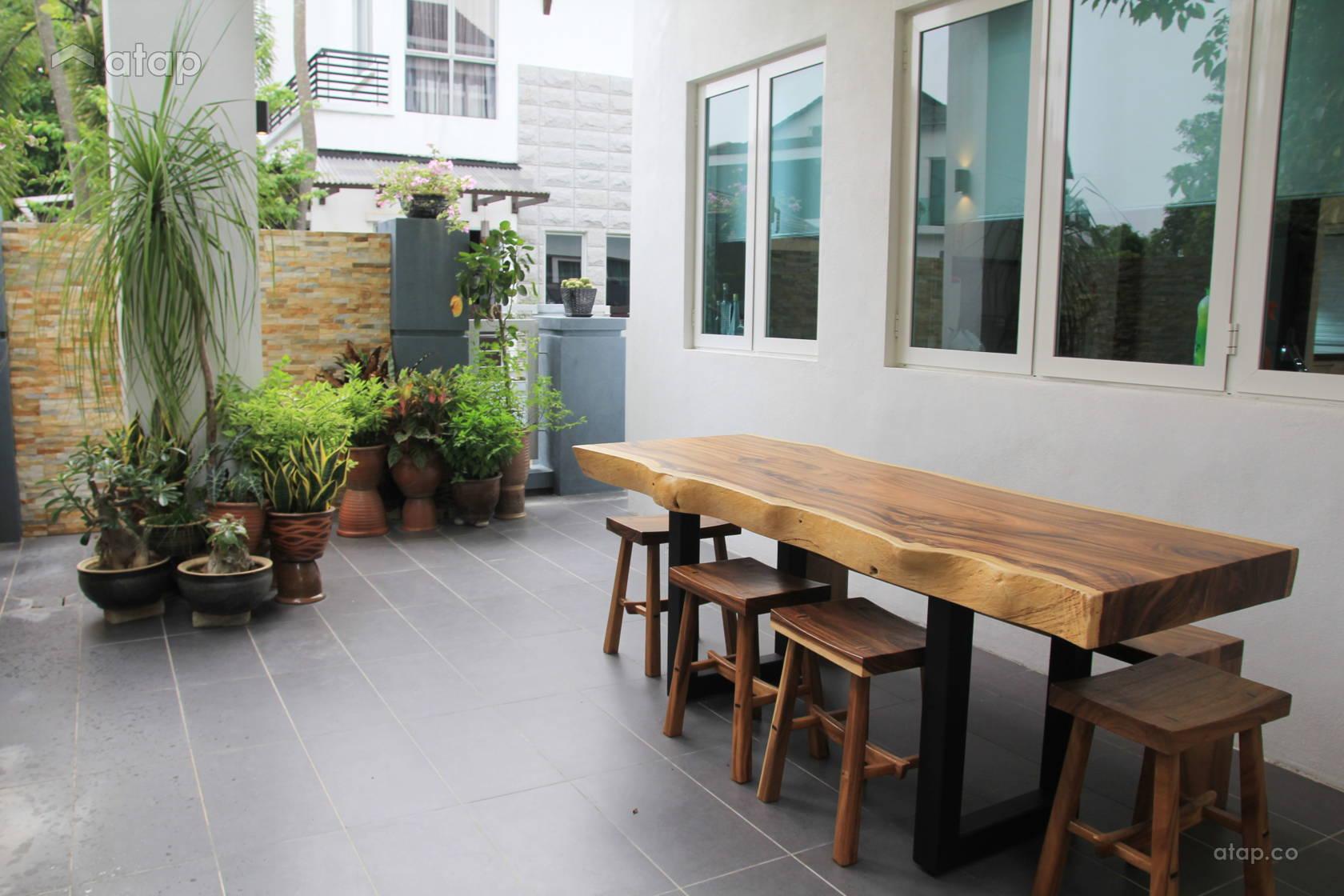 Rustic Scandinavian Exterior Garden @ Laman Seri Bungalow , Shah Alam