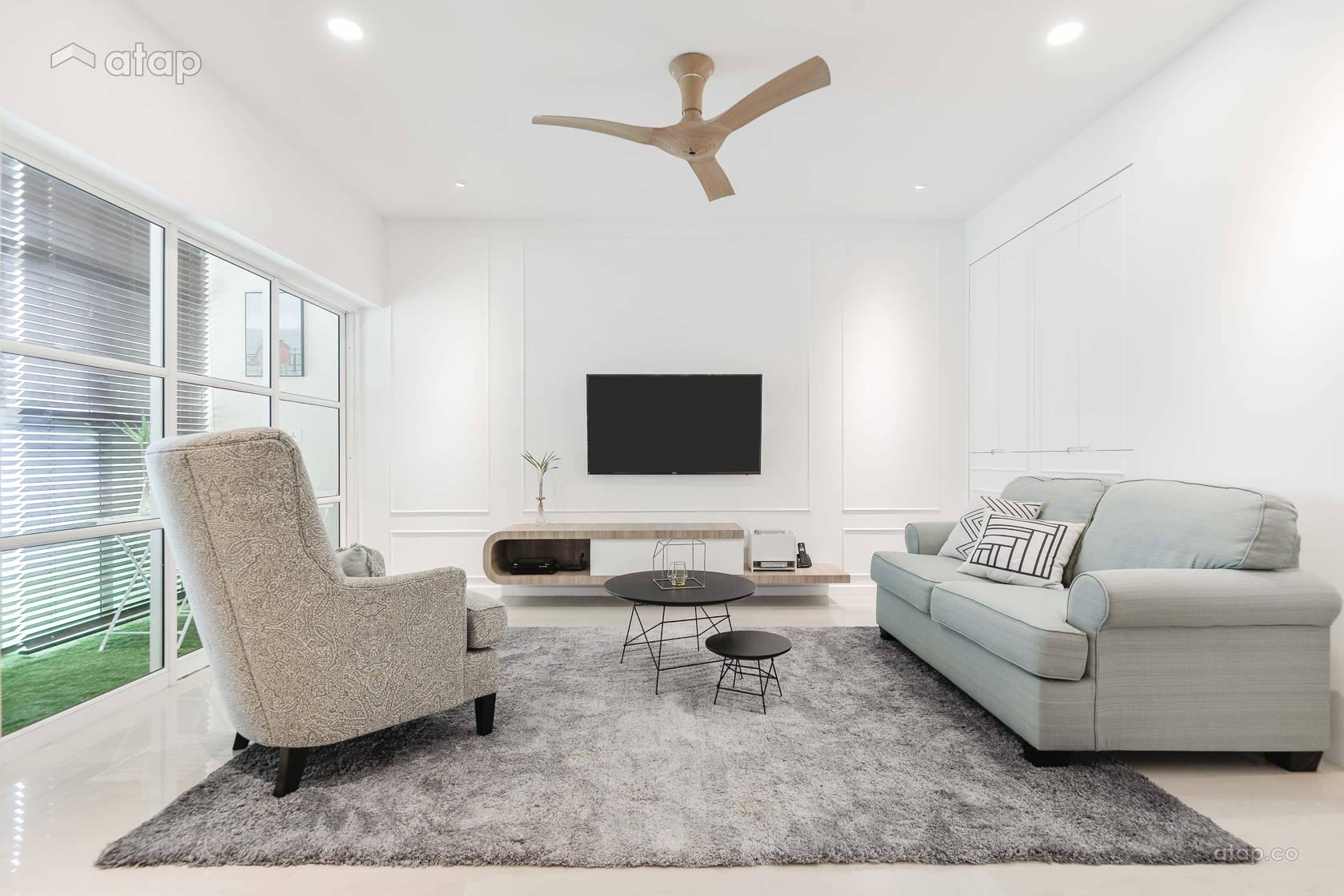 Classic Modern Living Room @ Li Villas