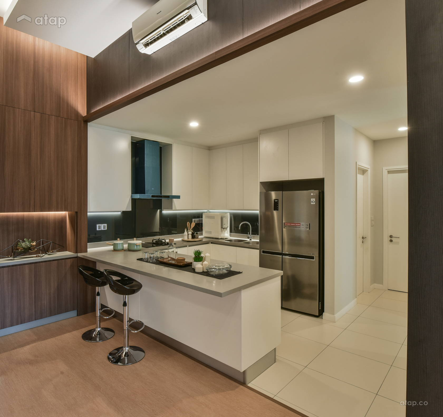 Modern Scandinavian Kitchen @ Urban Sanctuary at Three28 Tun Razak