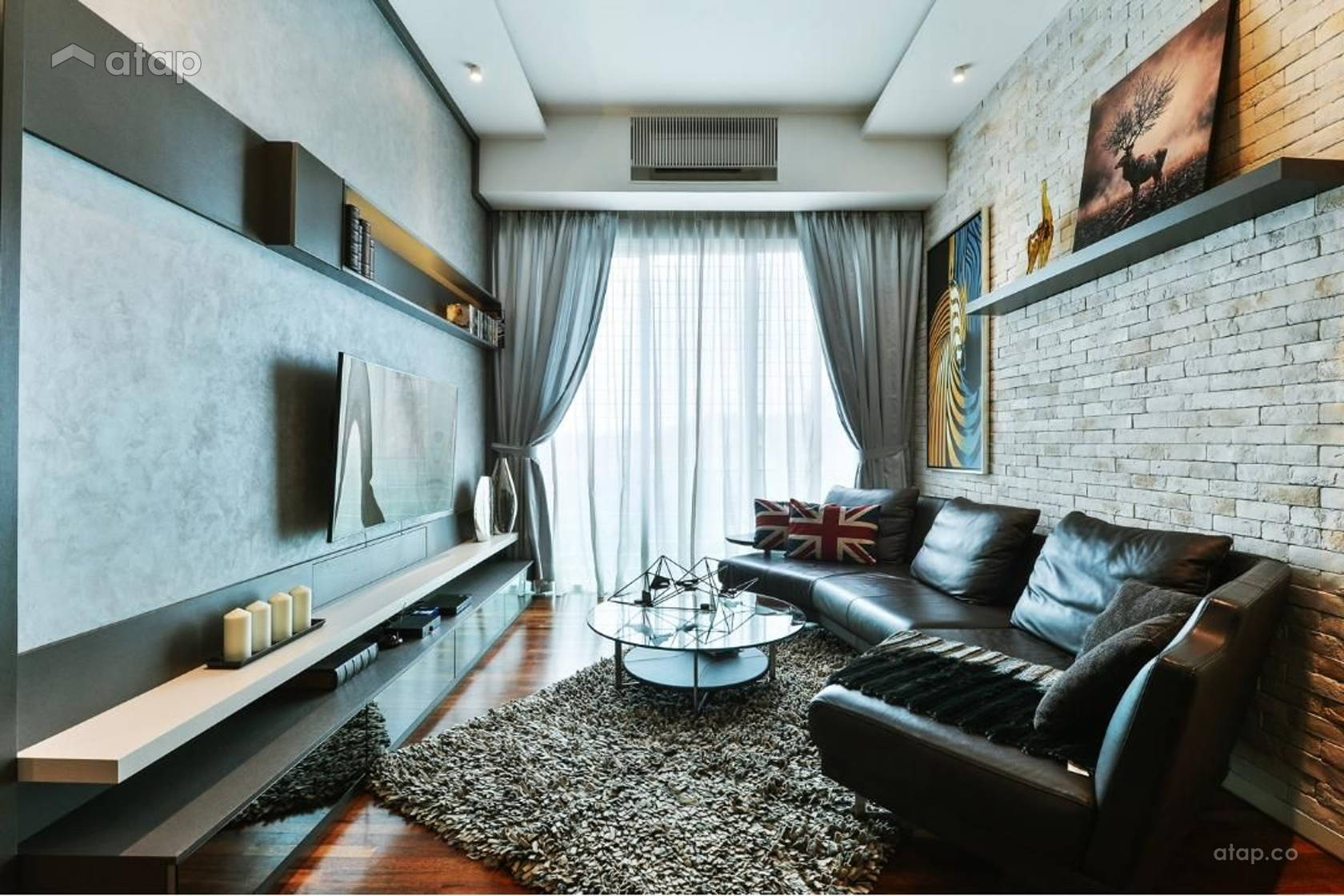 Contemporary Modern Living Room @ Cheras Idaman