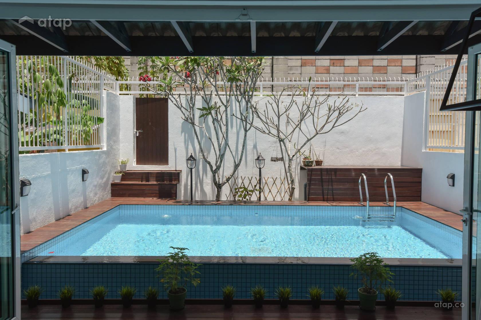 Modern Exterior @ Terrace House Sri Petaling