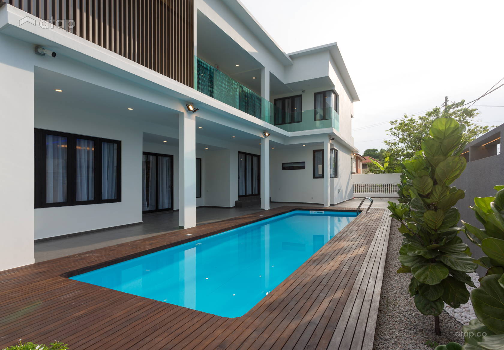 These Malaysian Homes Feature Dreamy Swimming Pools That Help Beat The Heat Atap Co