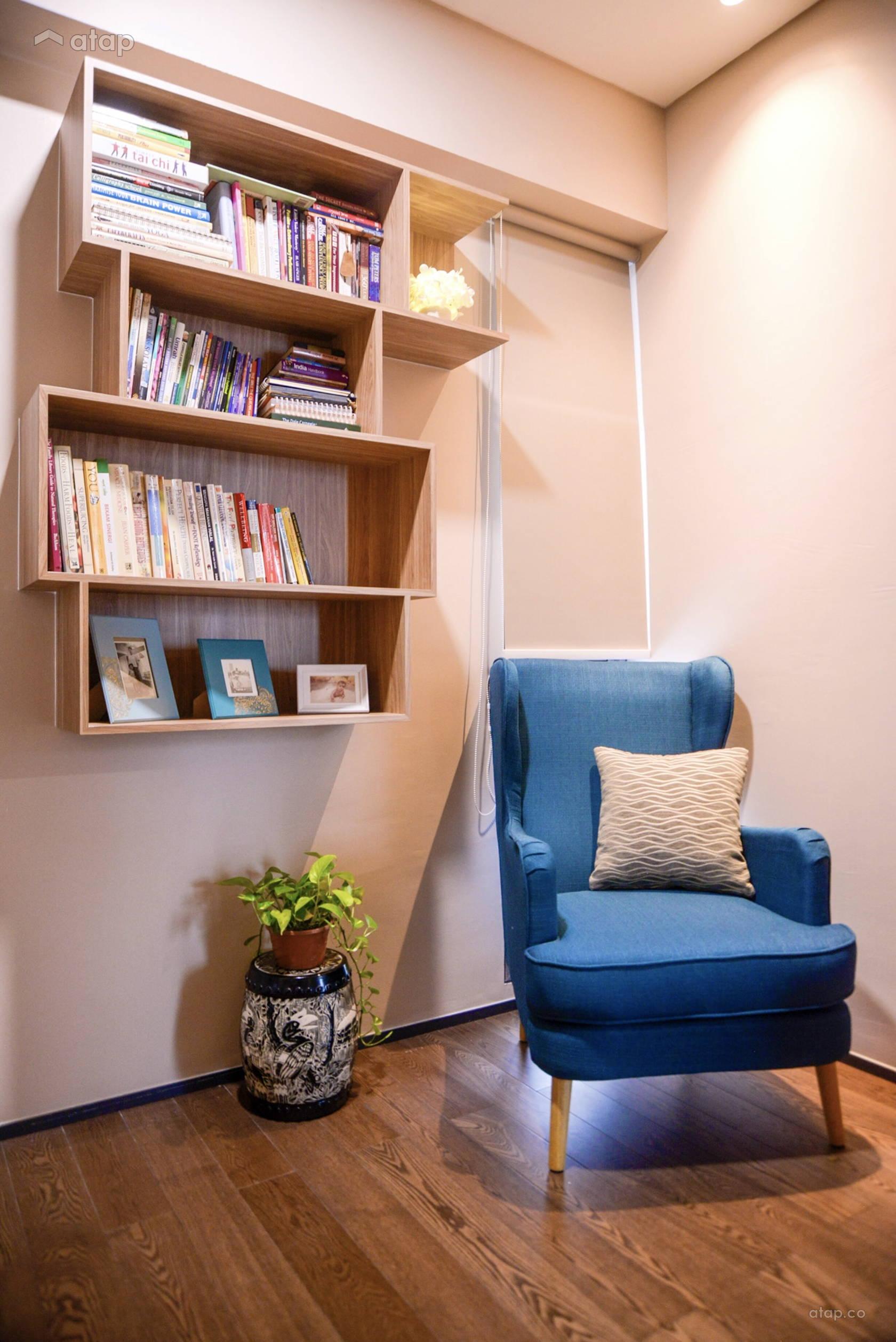 Condominium Study Room: Minimalistic Study Room Condominium @ The Fennel @ Sentul
