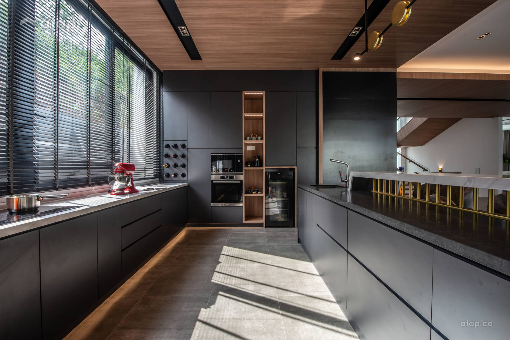 Contemporary Modern Kitchen @ Earl of East